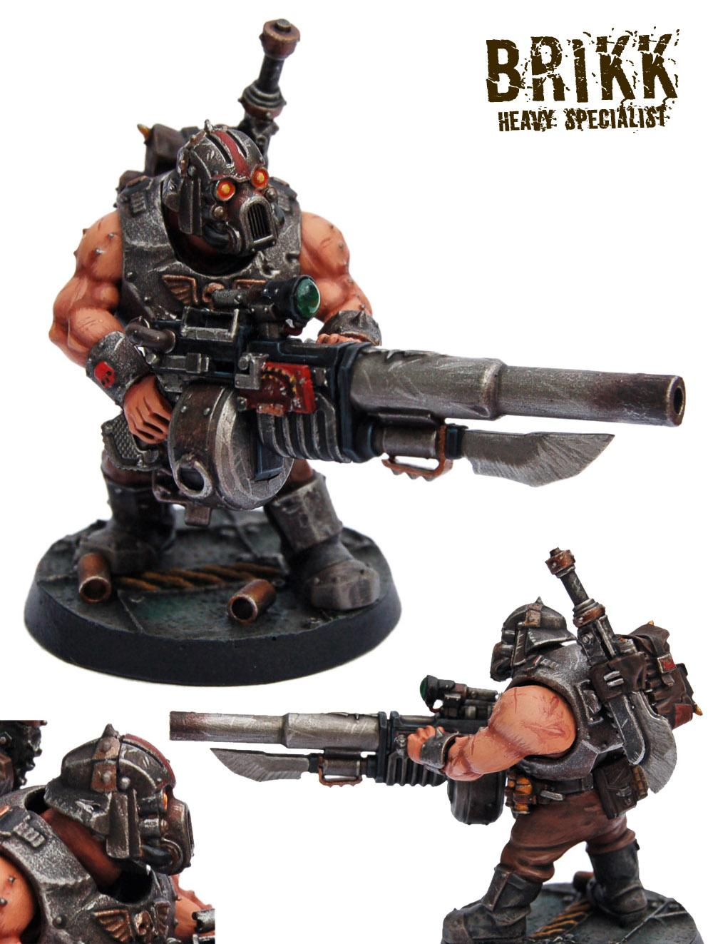 Astra Militarum, Battle Cannon, Bullgryn, Bullgryns, Conversion, Heavy Specialist, Kill Team, Ogres, Ogryn Bodyguard, Ogryn Gunluger, Ogryns, Warhammer 40,000