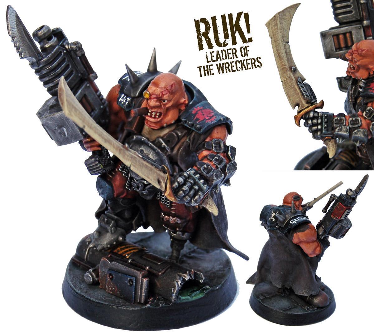 Astra Militarum, Bullgryn, Bullgryns, Conversion, Hired Guns, Kill Team, Necromunda, Nork Deddog, Ogres, Ogryn Bodyguard, Ogryns, Warhammer 40,000