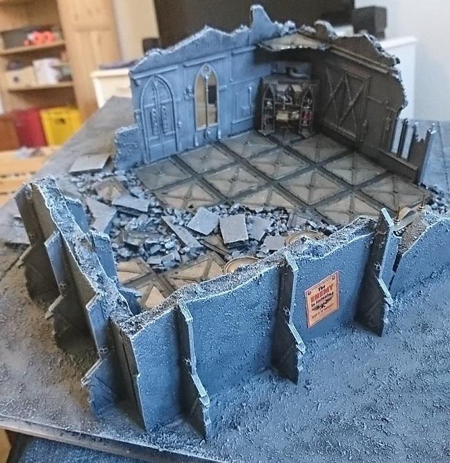 Ruins, Terrain