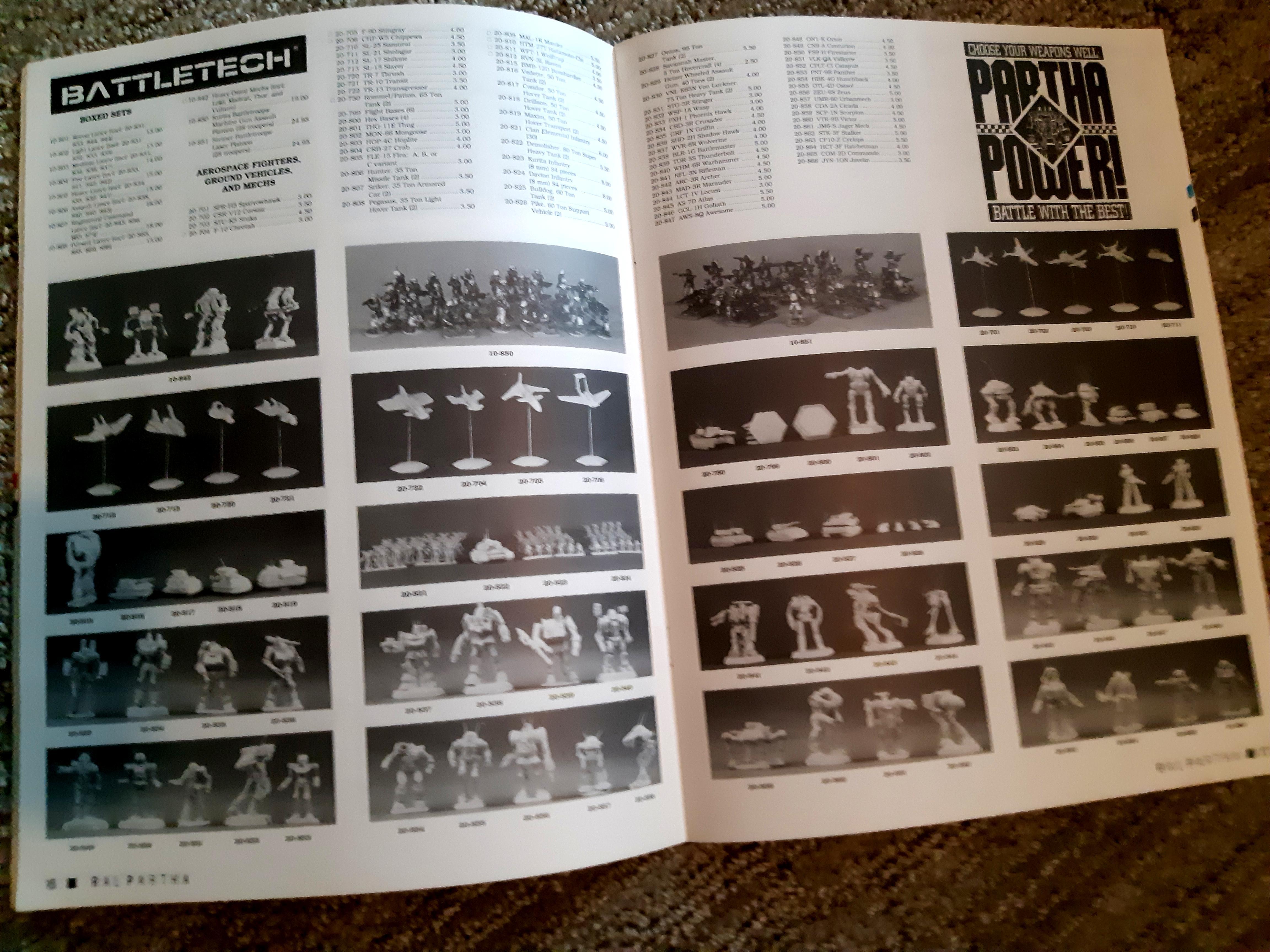 Battlemech, Battletech, Catalog, Fasa, Lead, Mech, Metal, Ral Partha