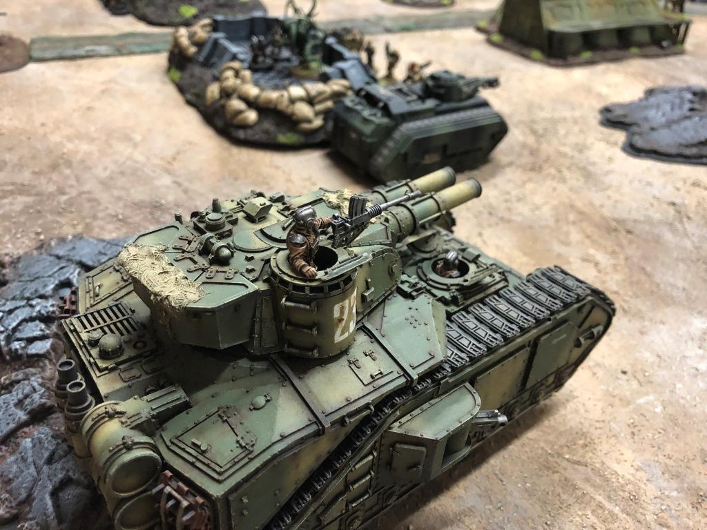 Armor, Heavy, Super, Tank, Warhammer 40,000