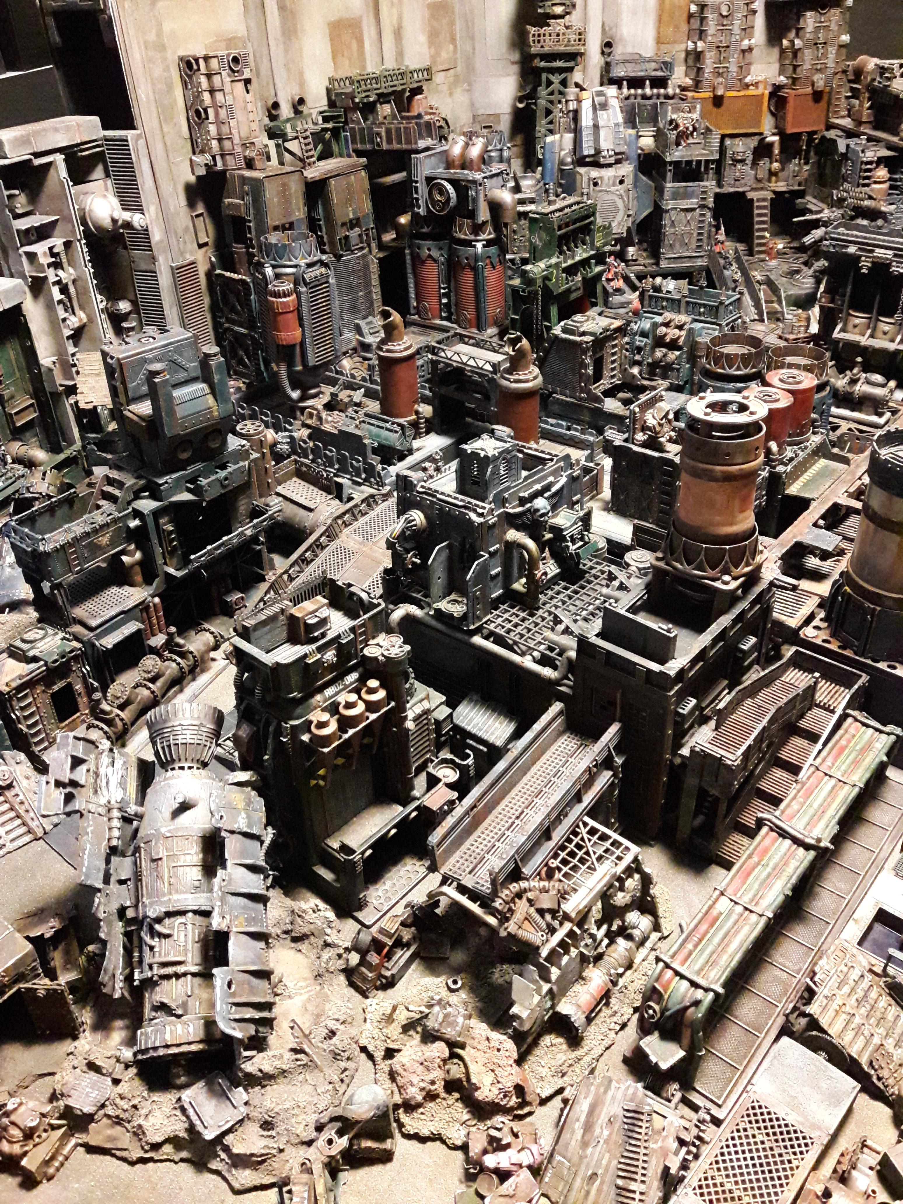 Forge World, Industrial, Minis, Rogue Trader, Rpg, Terrain