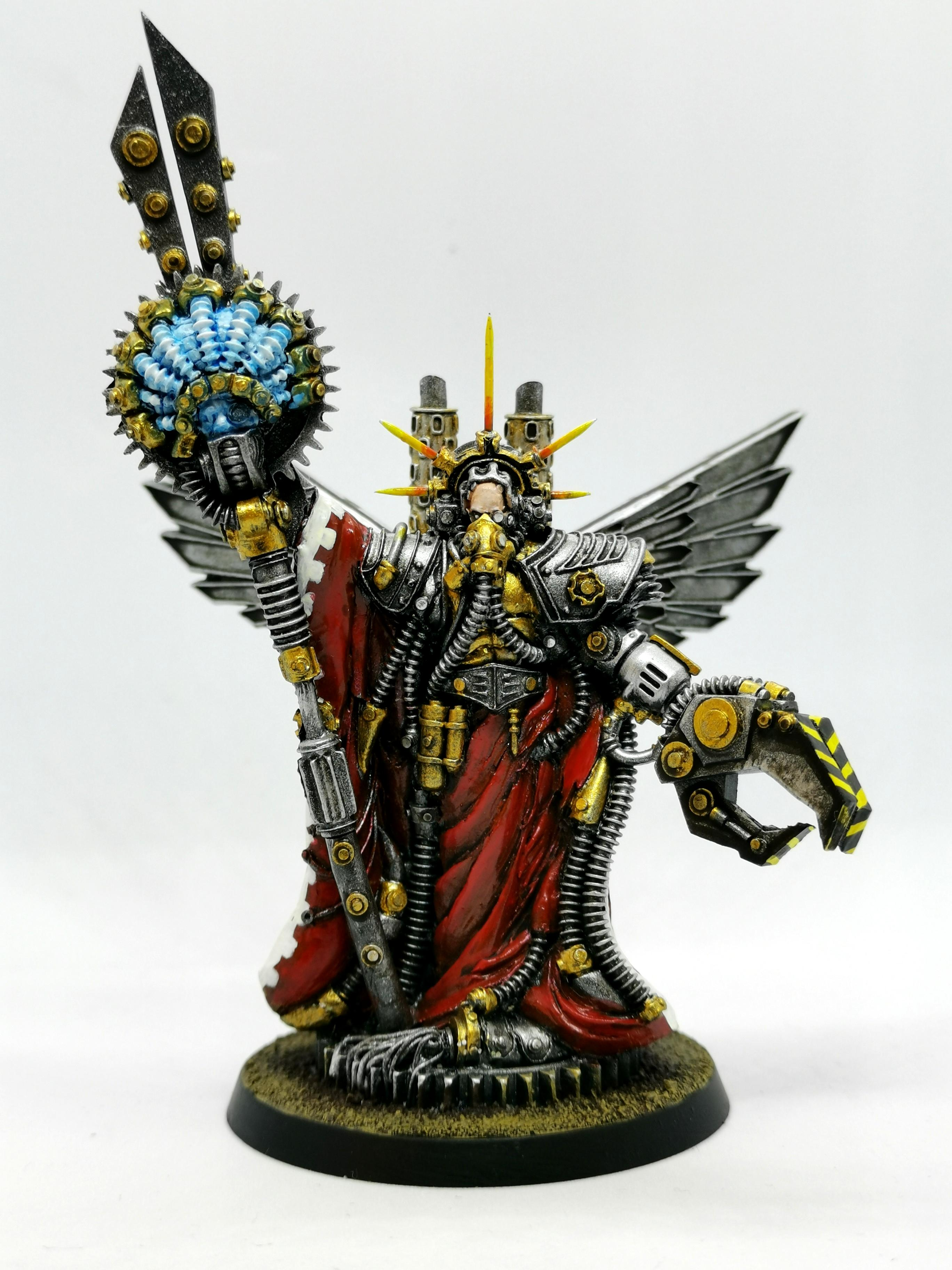 Adeptus Mechanicus, Bio-tech Covenant, Hitech Miniatures, Tech-priest