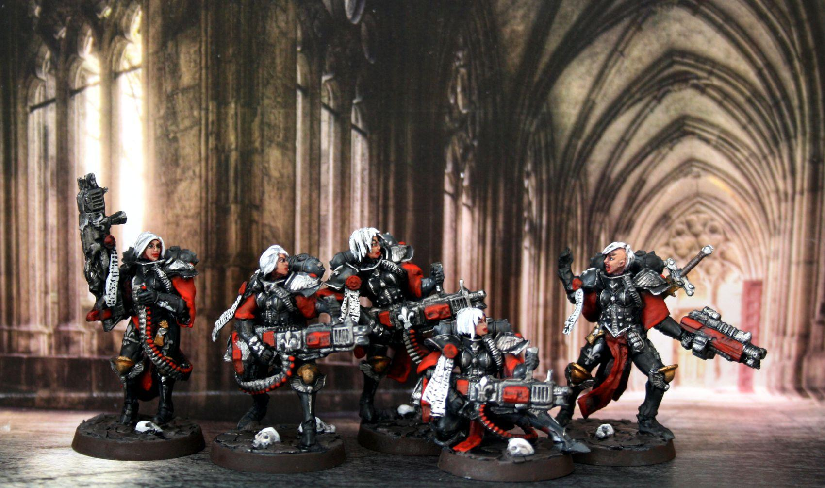 Adepta Sororitas, Retributors, Scratch Build, Sculpting, Sisters Of Battle