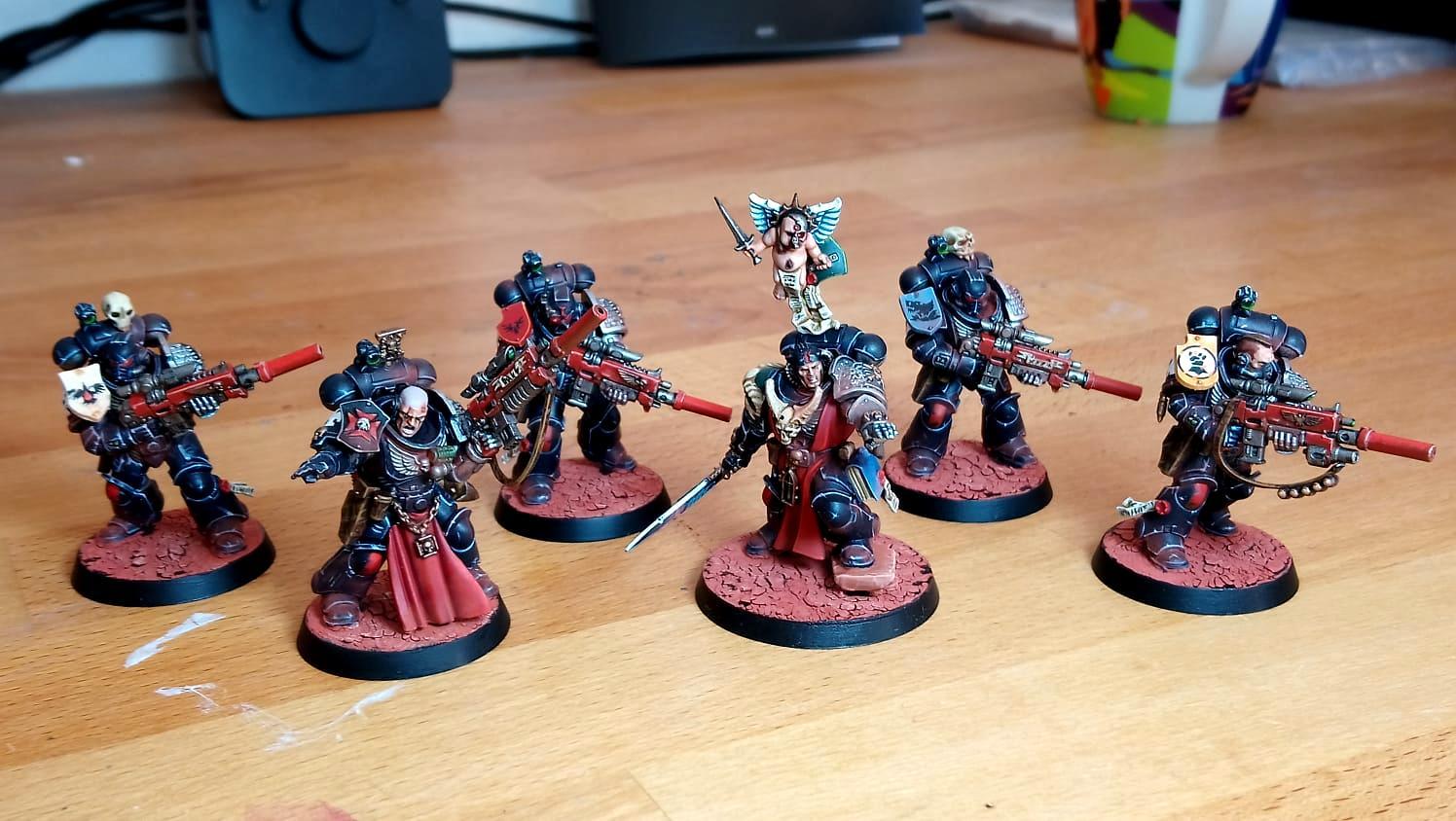 Deathwatch, Kill Team, Killteam, Librarian, Primaris, Space Marines