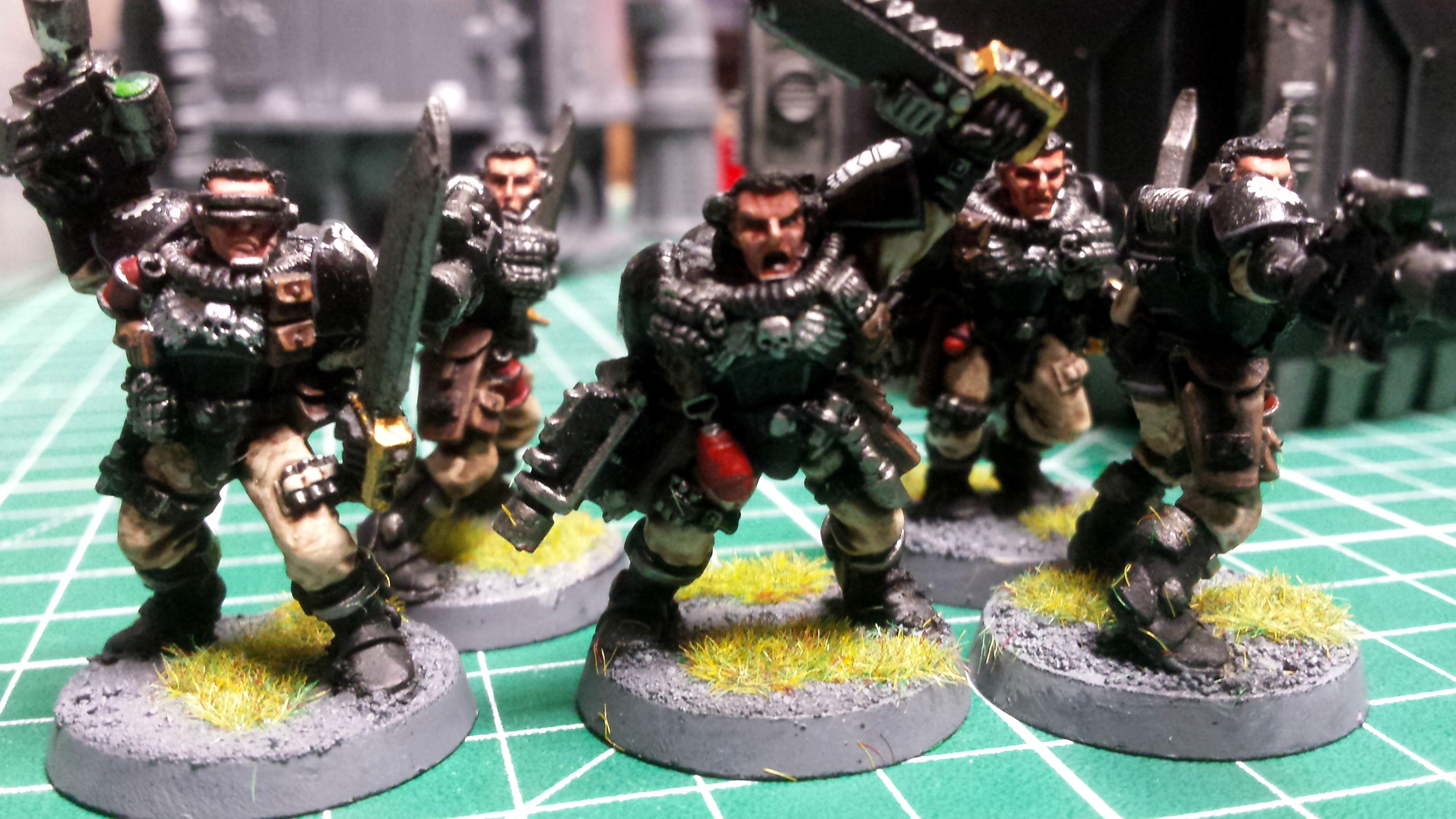 Iron Hand scouts