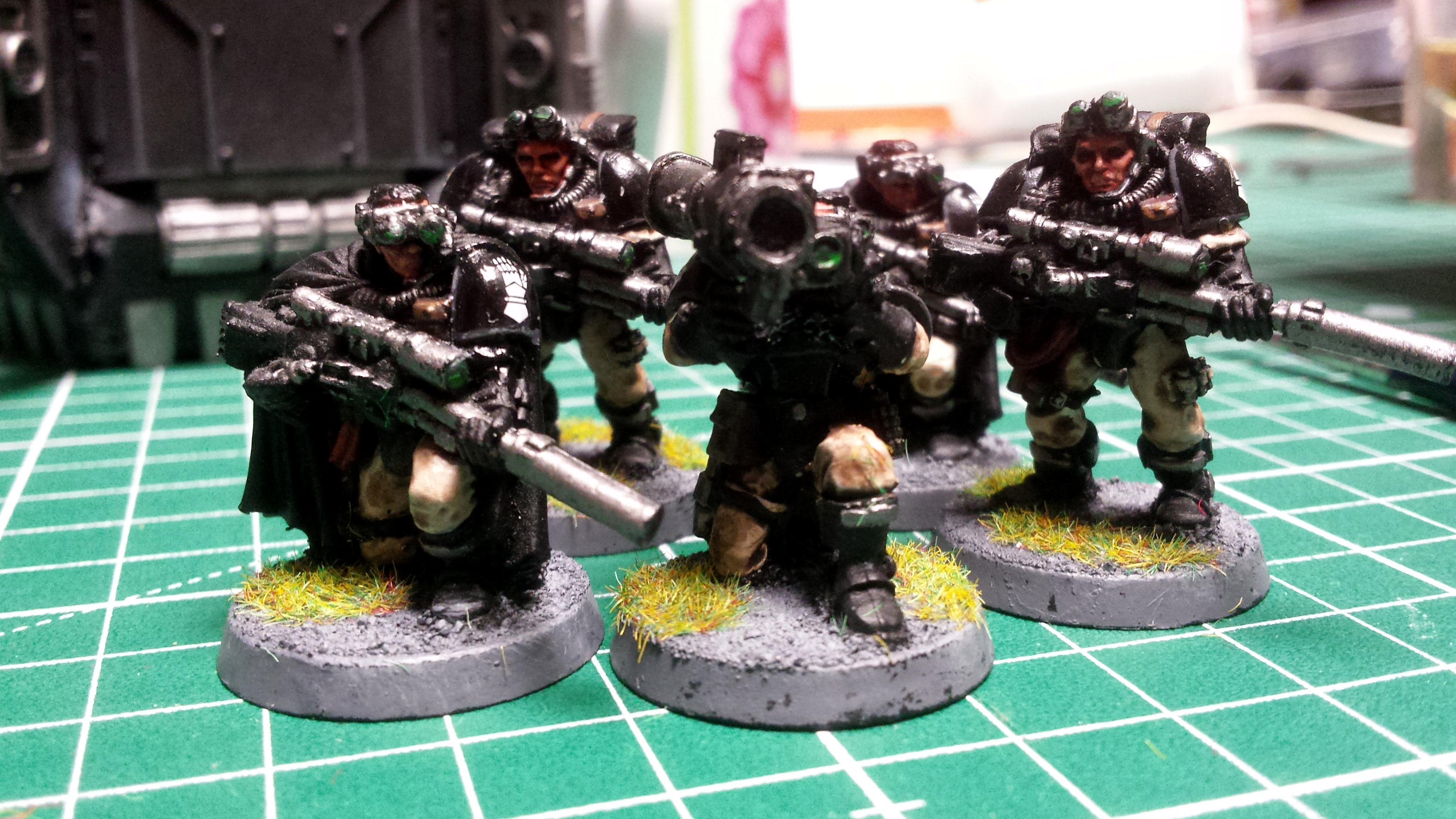 Iron Hands long range scouts