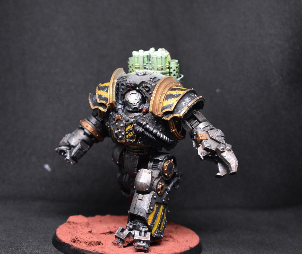 Contemptor, Dreadnought, Horus Heresy, Iron Warriors