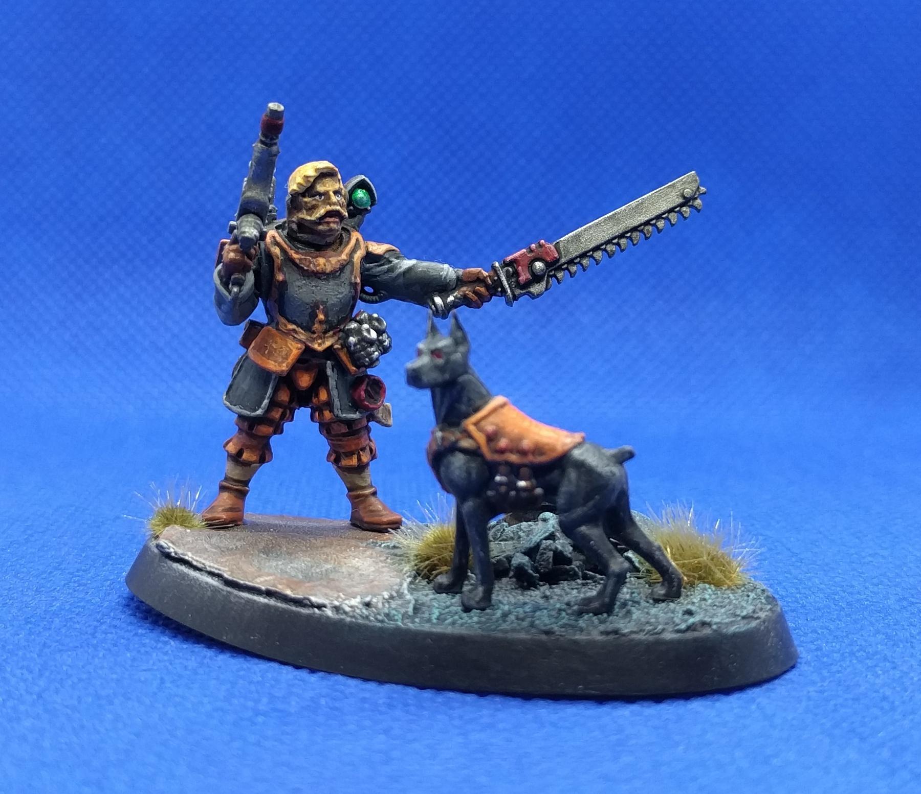 Dog, Imperial Guard, Kill Team, Mastif, Thanatos 109