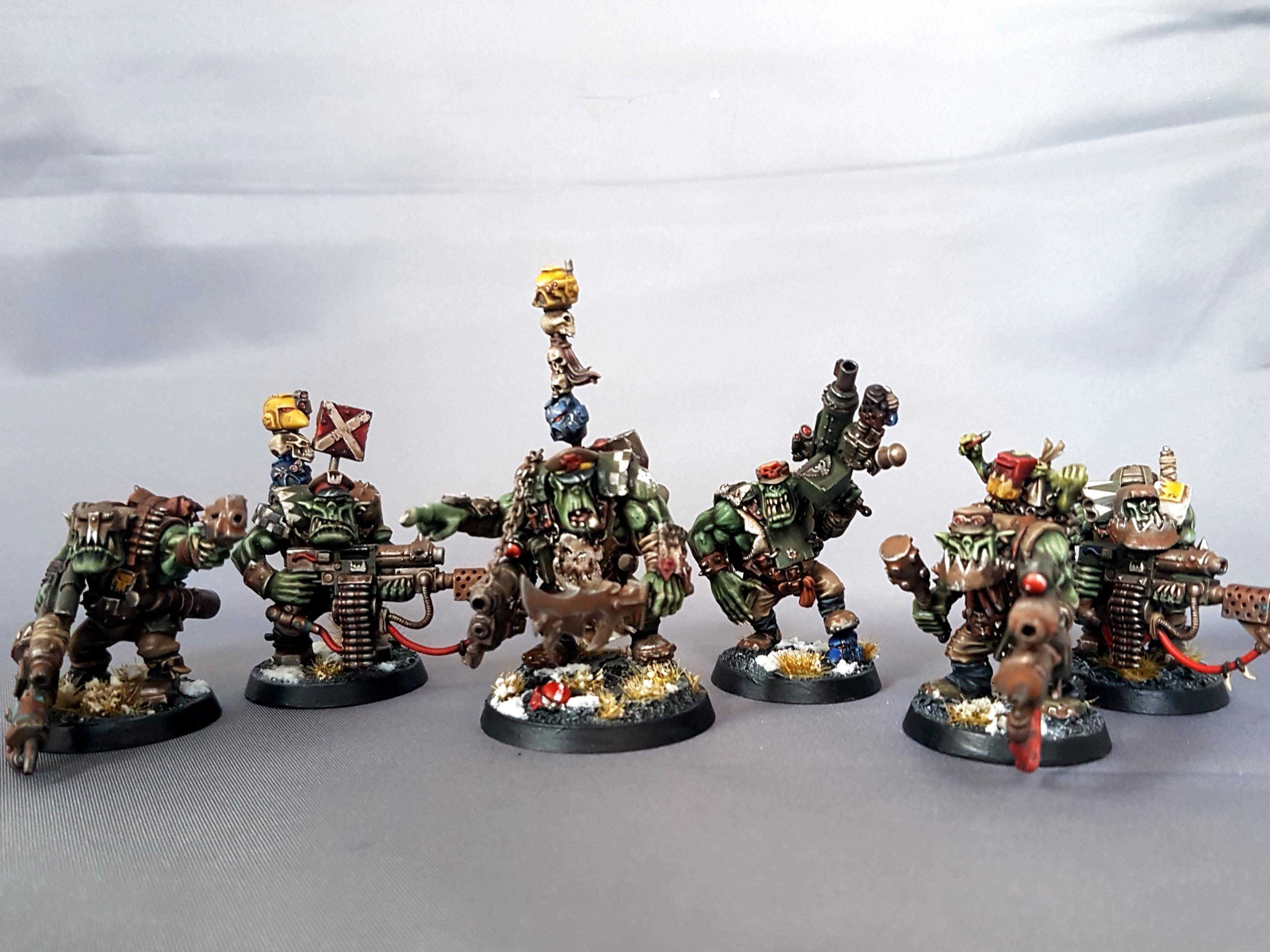 Blood Axe, Nob, Orks, Waaagh, Warboss, Warhammer 40,000