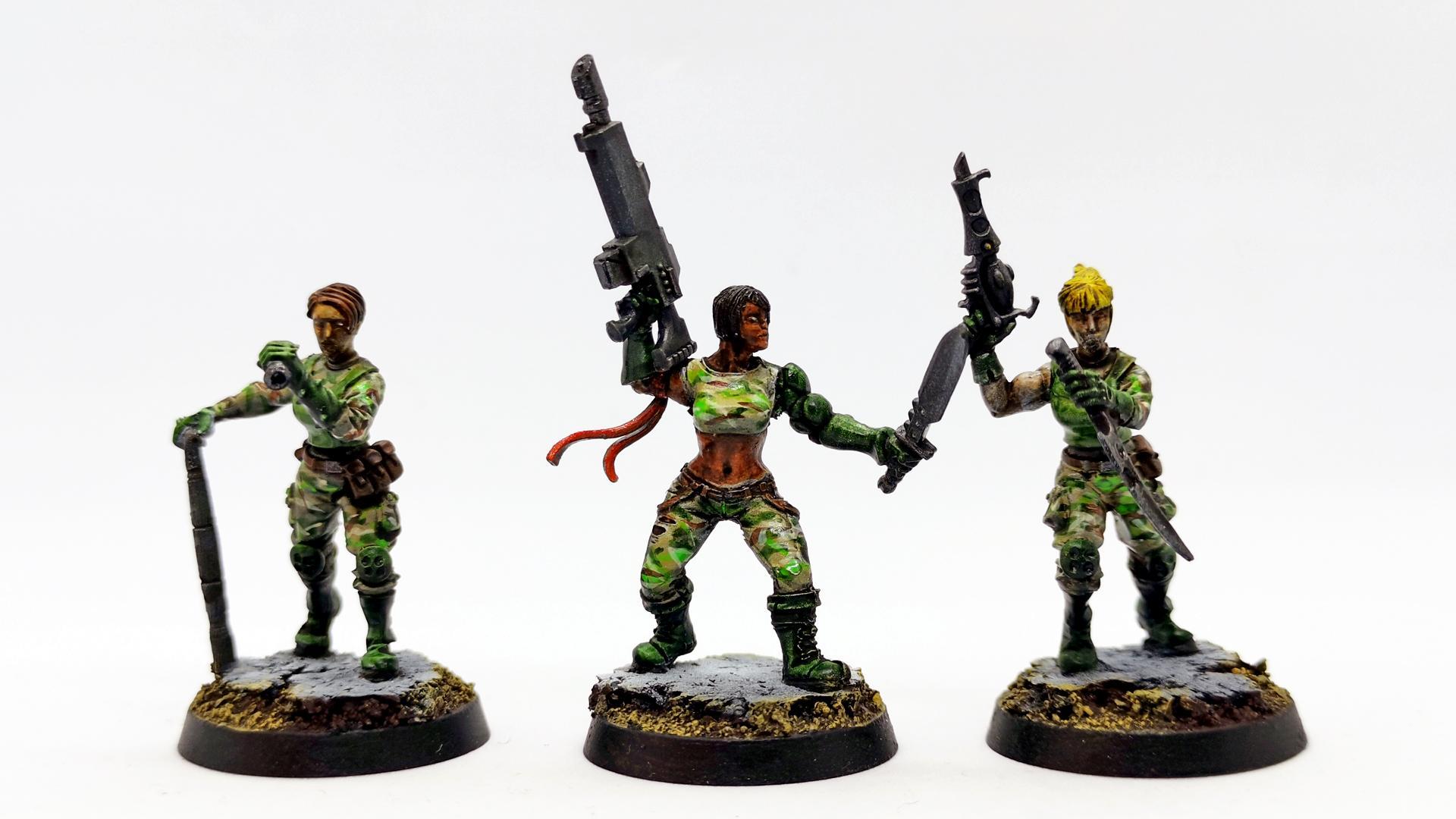 Brother Vinni, Female Brigade
