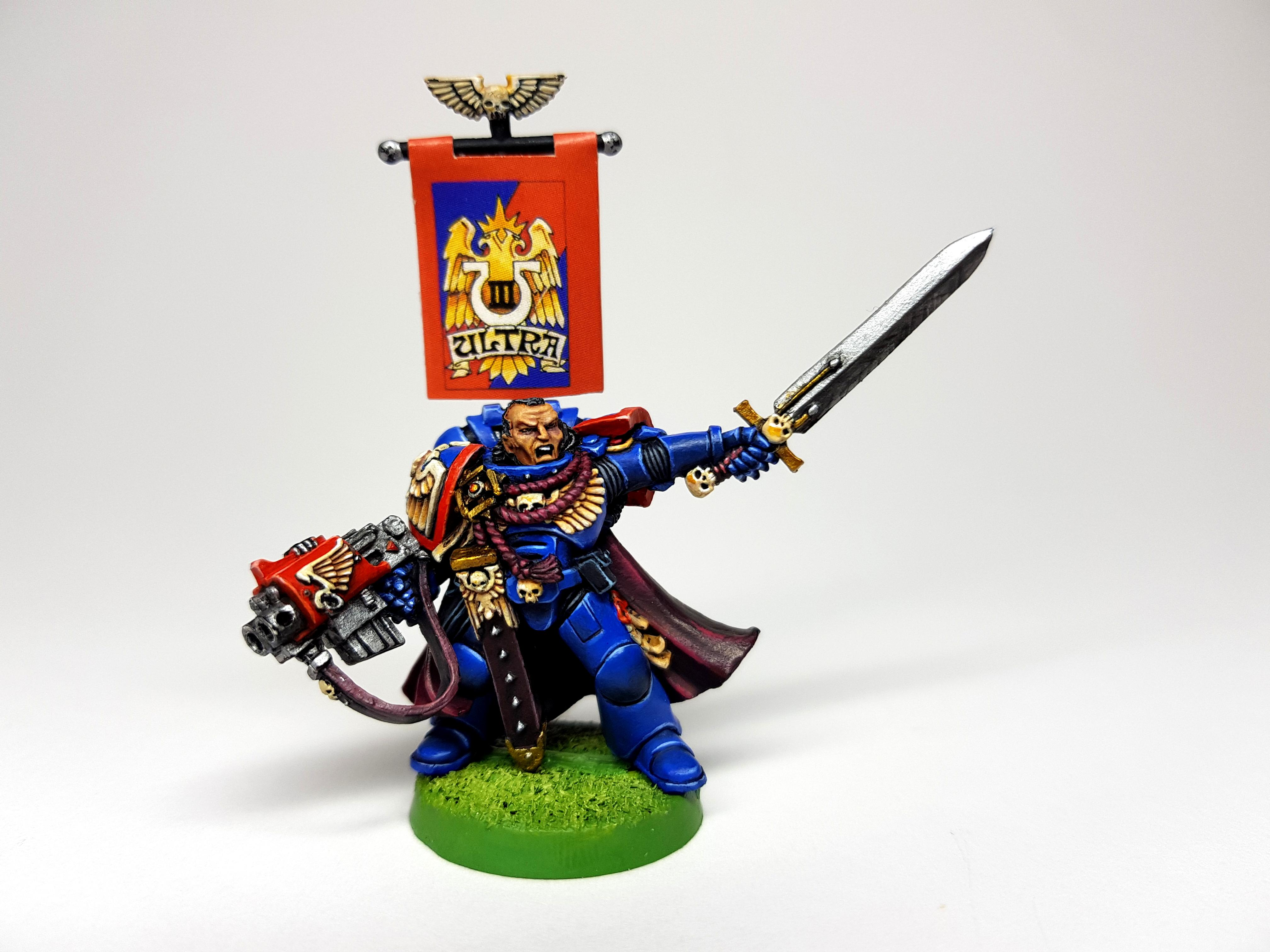 3rd Edition, Captain, Space Marines, Warhammer 40,000