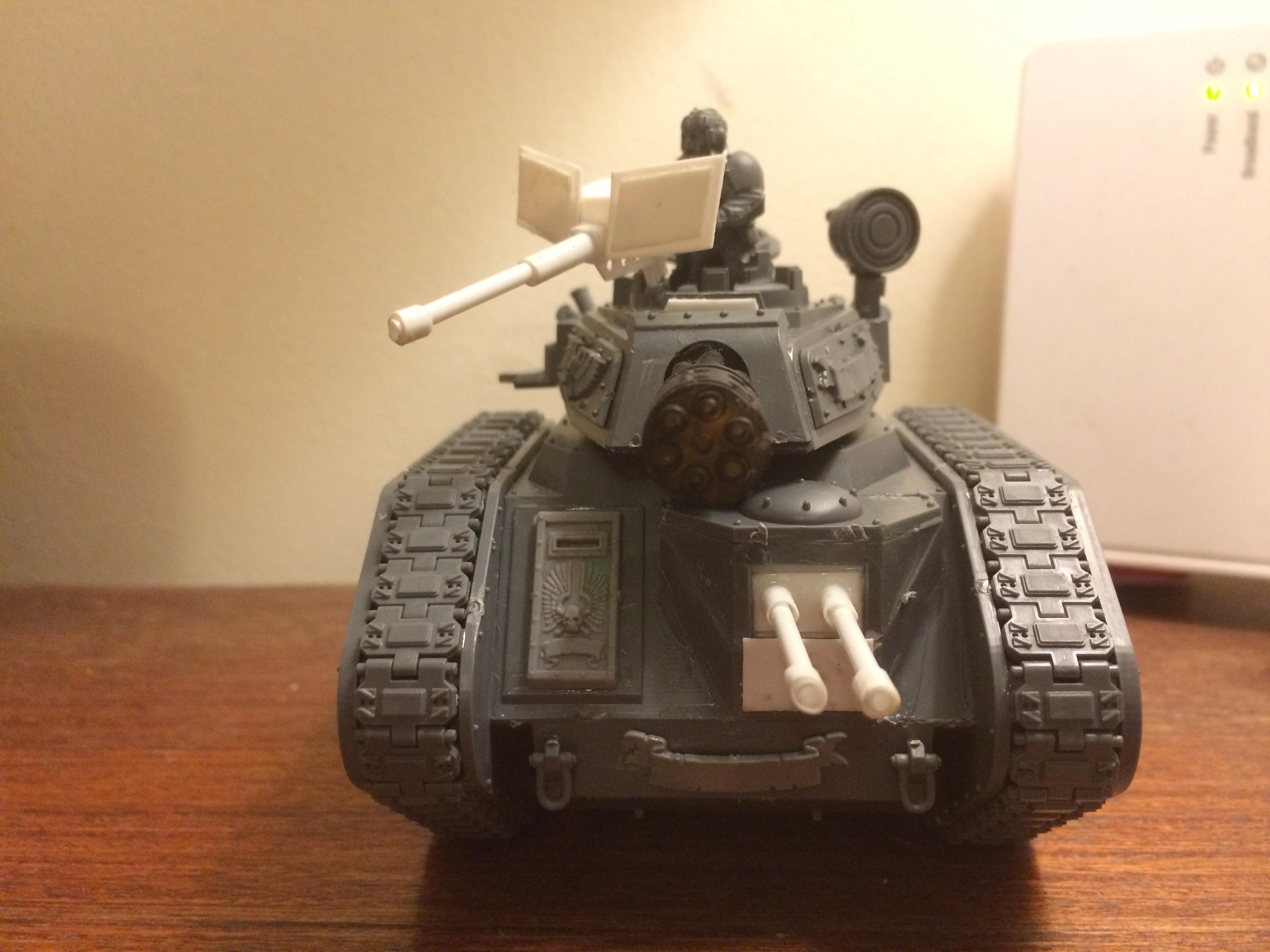 Tank comander
