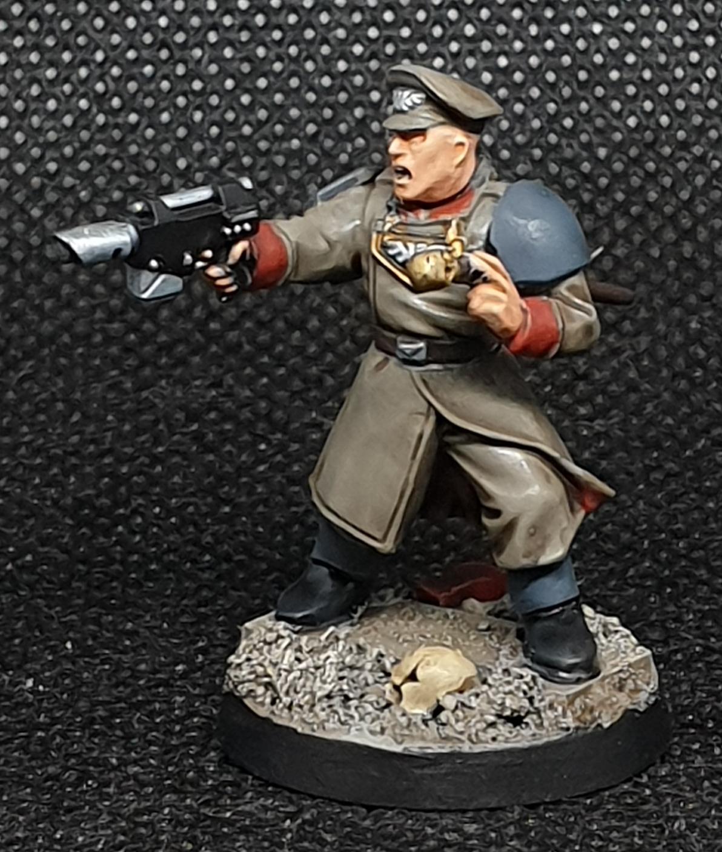 Cadians, Commander, Imperial Guard