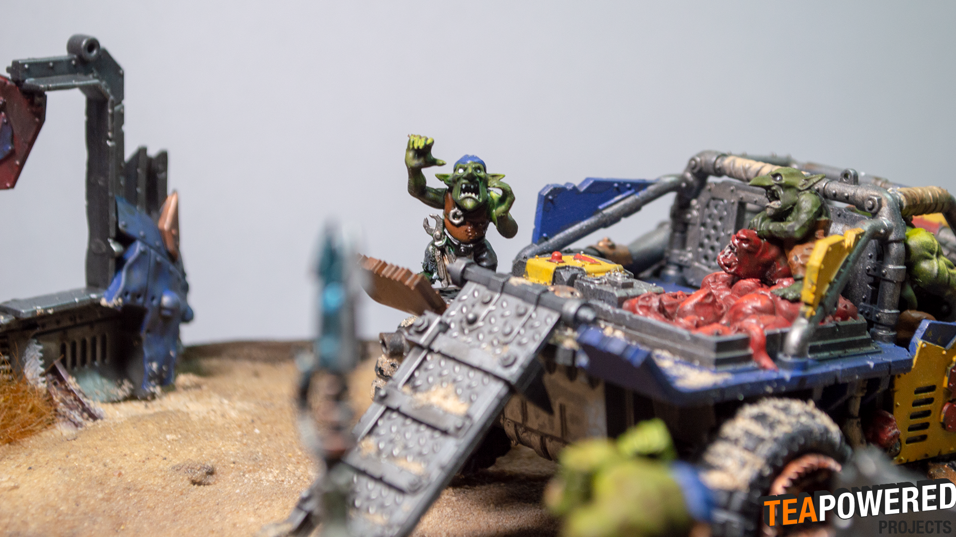 Diorama, Gretchen, Orks, Squigs, Warhammer 40,000