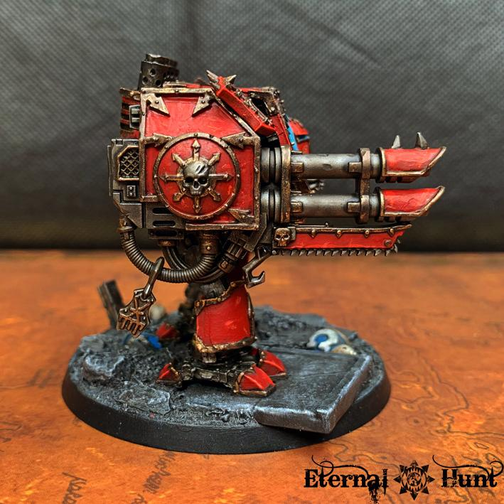Argus The Brazen, Castraferrum, Chaos, Chaos Space Marines, Conversion, Dreadnought, Forge World, Helbrute, Khorne, Out Of Production, Warhammer 40,000, World Eaters