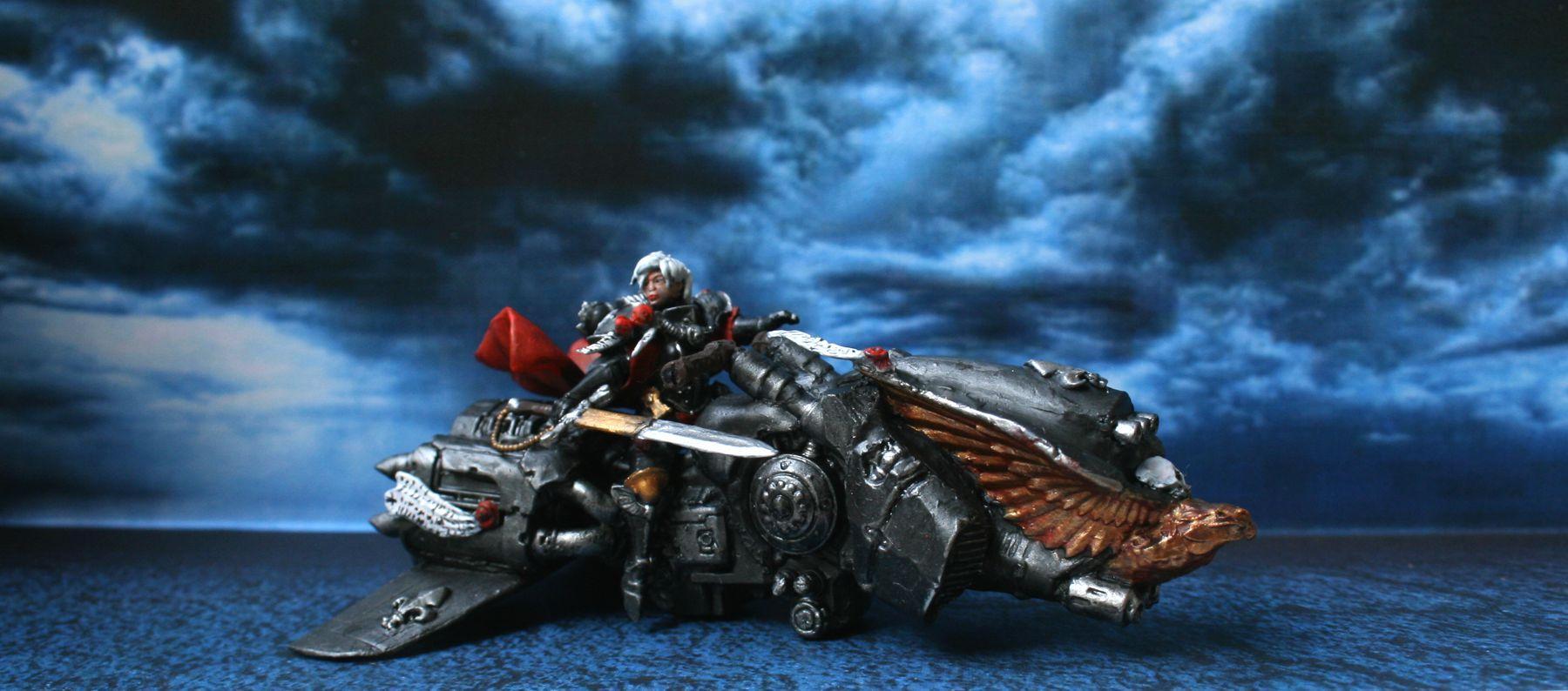 Adepta Sororitas, Dawneagle, Inquisition, Jetbike, Sisters Of Battle