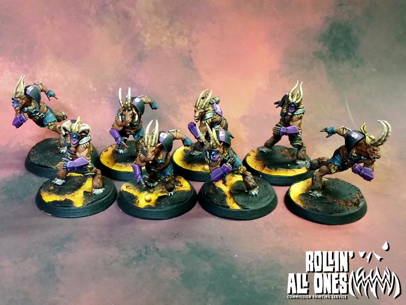 Beastmen, Blood Bowl, Chaos