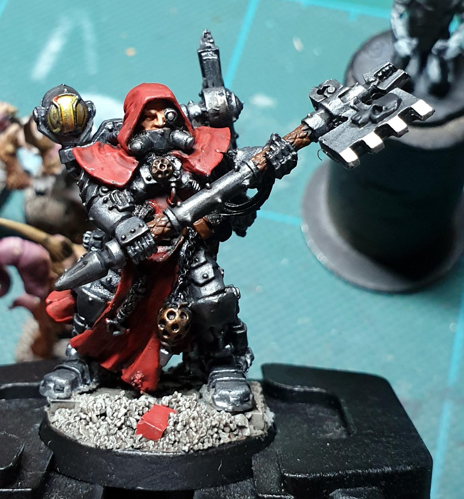 Adeptus Mechanicus, Imperial Guard, Work In Progress