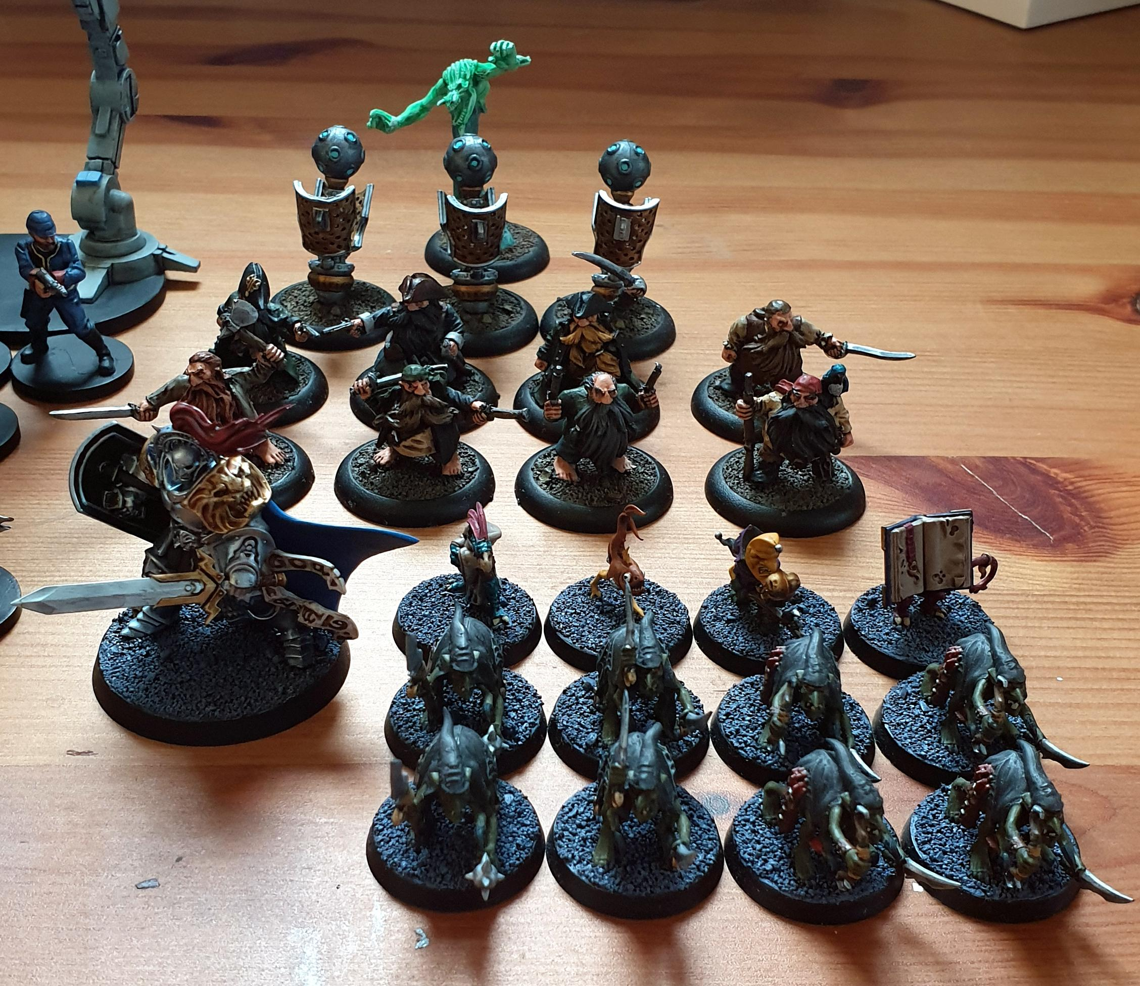 Silver Tower & extras