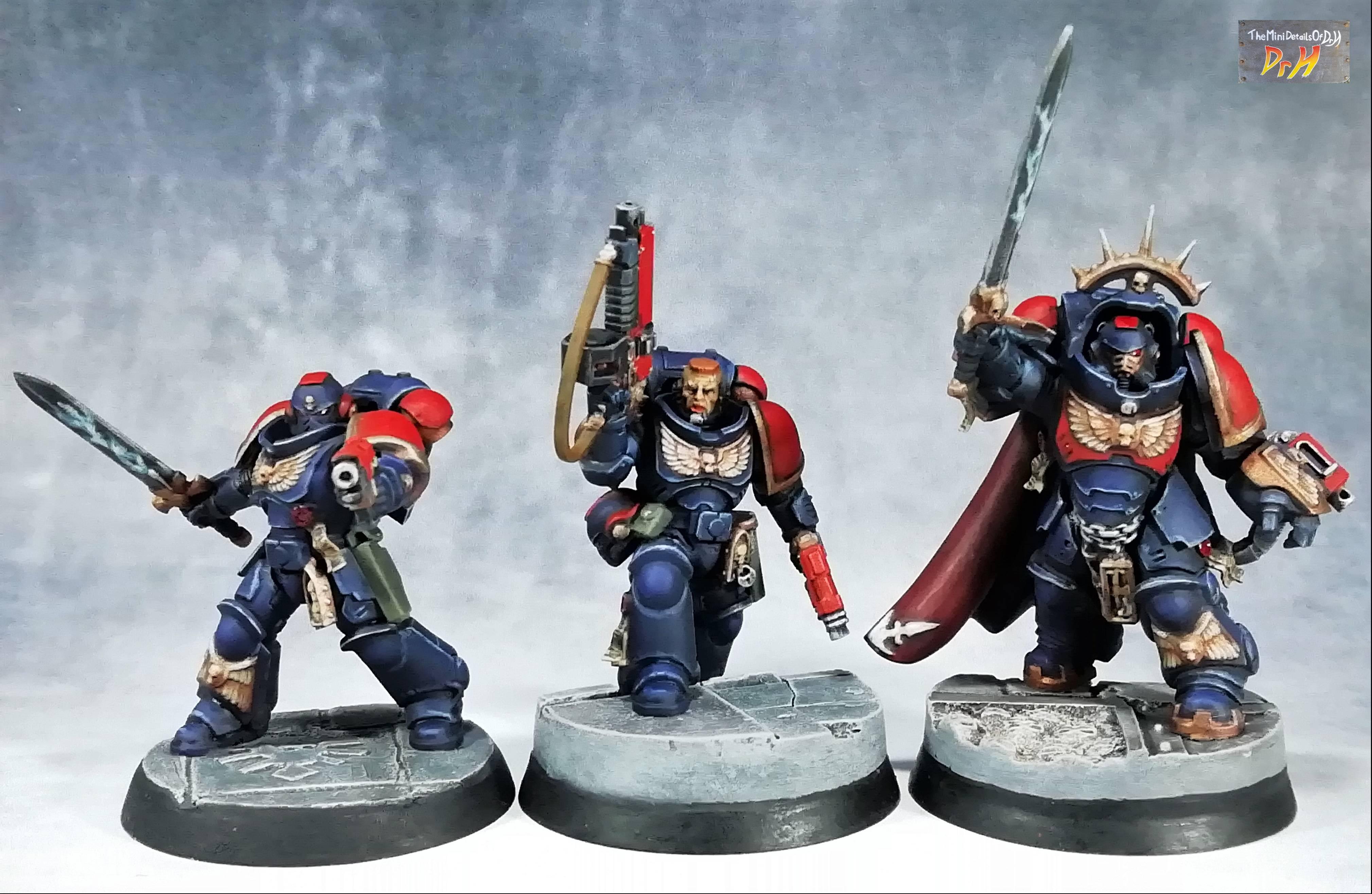 Primaris Lieutenants and Captain final 1
