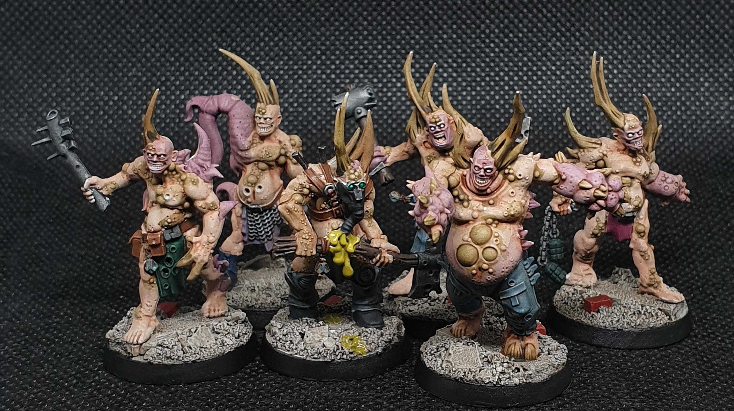 Death Guard, Zombie, More Poxwalkers