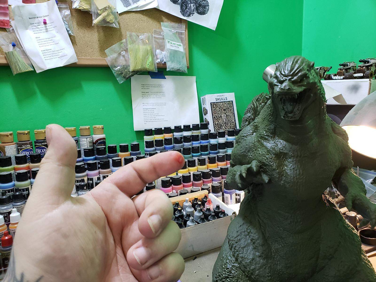 3d Printing, Anycubic I3 Mega, Anycubic Photon, Dlp, Fdm, Gambody, Godzilla, Godzilla Heisei, Heisei, Large