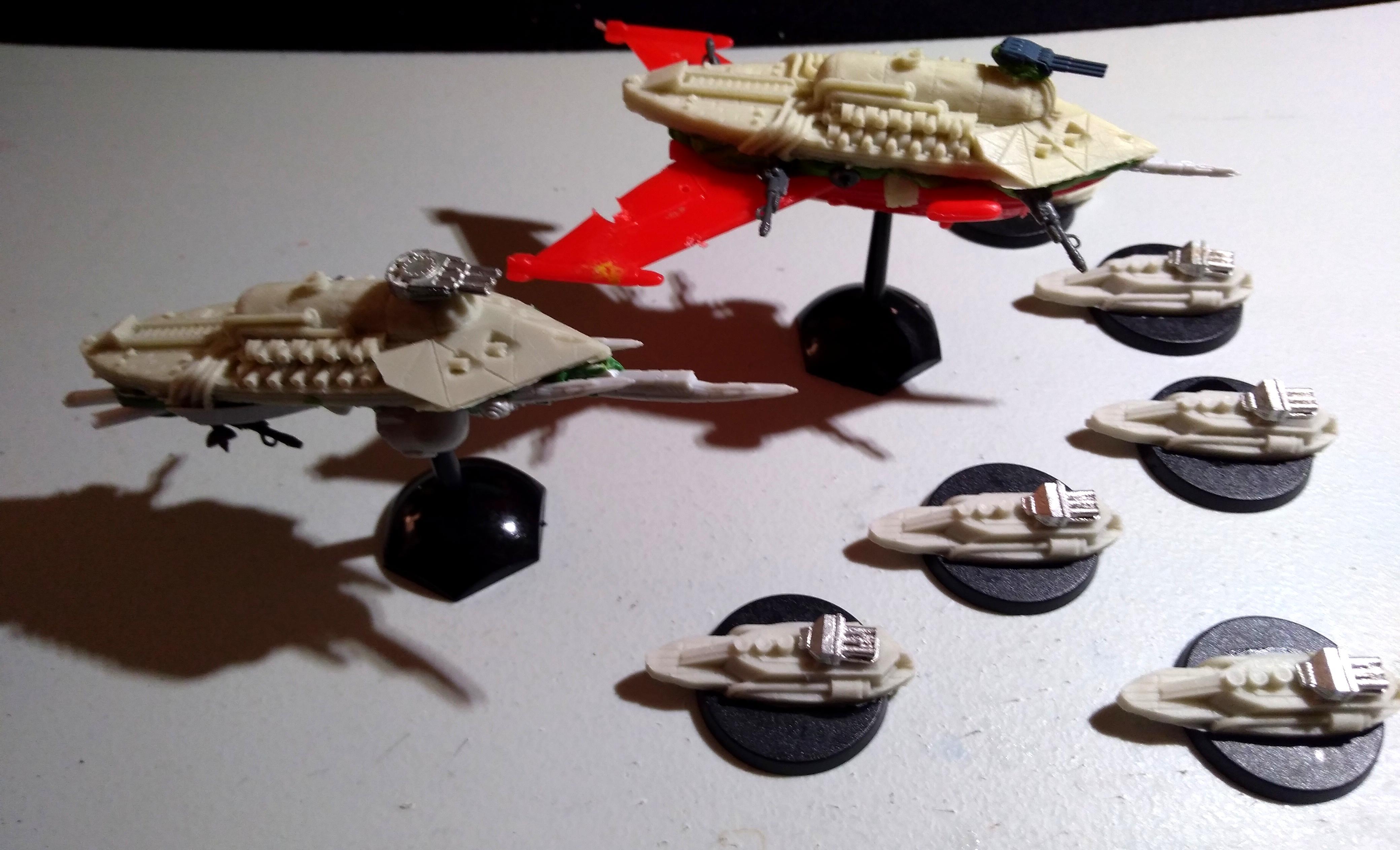 Battlefleet Gothic, Orks, Shroud Mages, Uncharted Seas