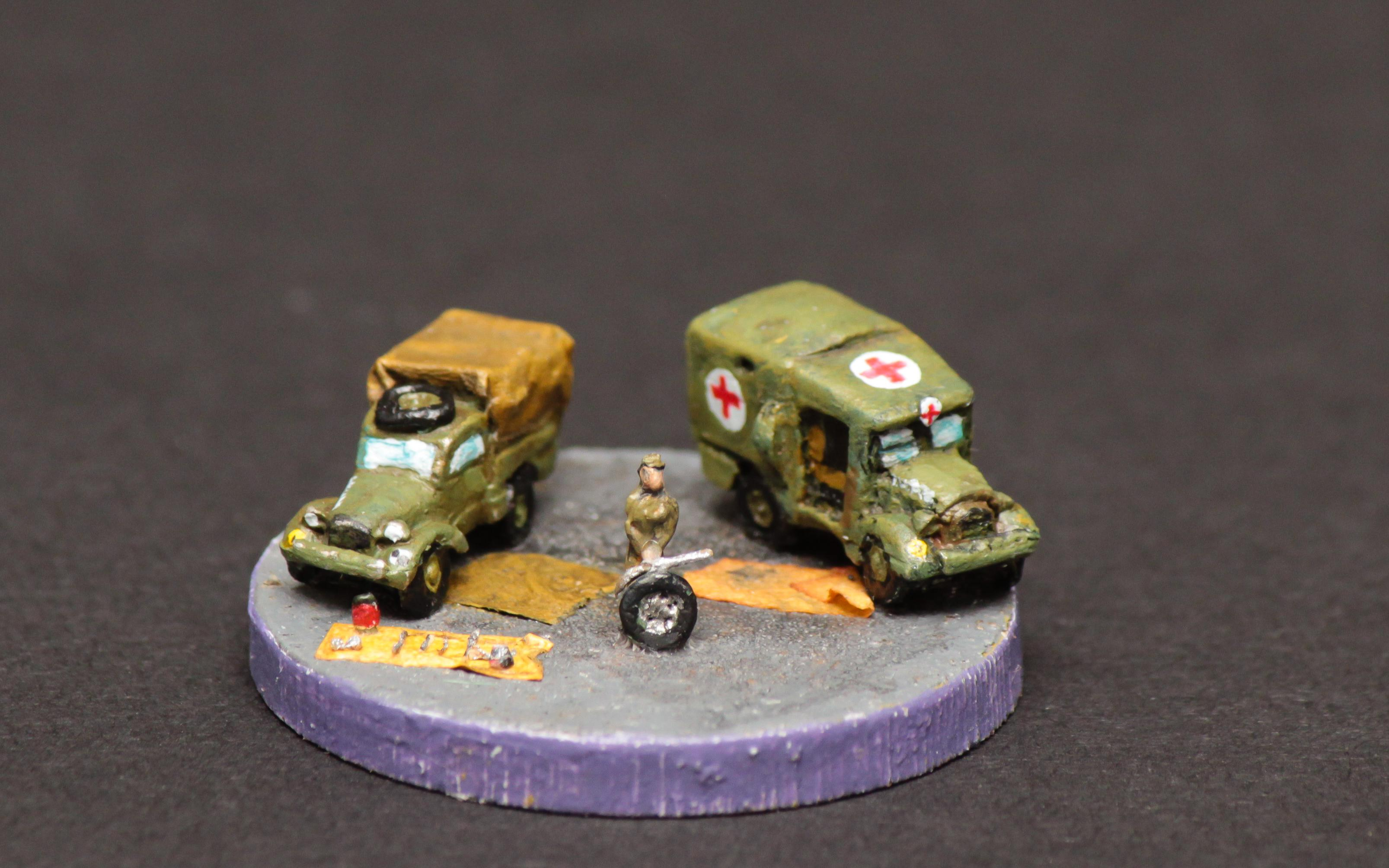 6mm, Ambulance, Ats, Queen, Royal, World War 2