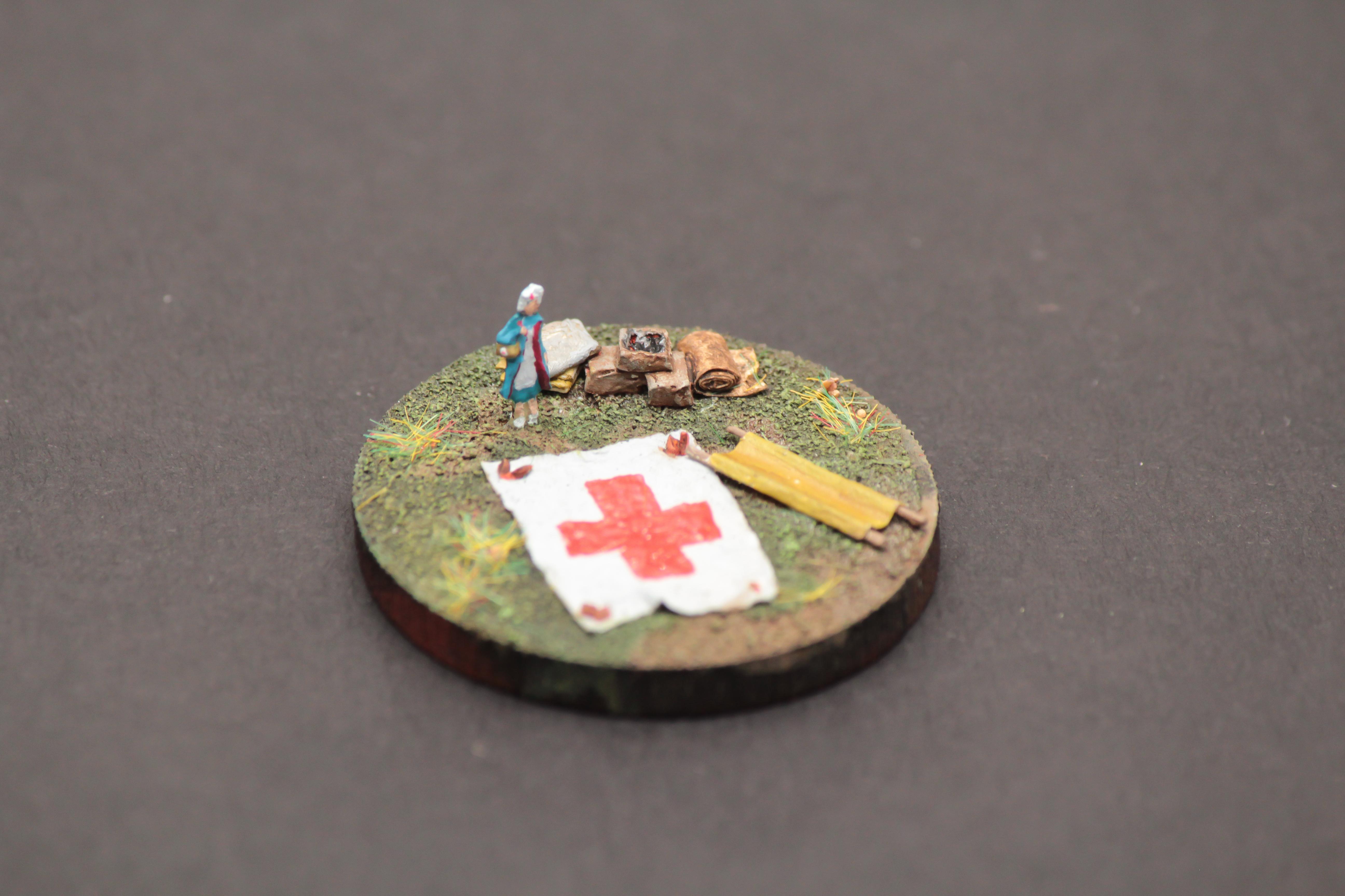 6mm, Red Cross, World War 2