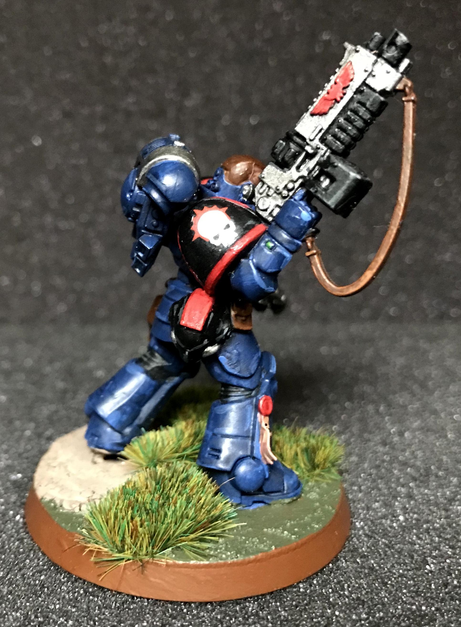 Lieutenant, Night Ravens, Primaris, Space Marines