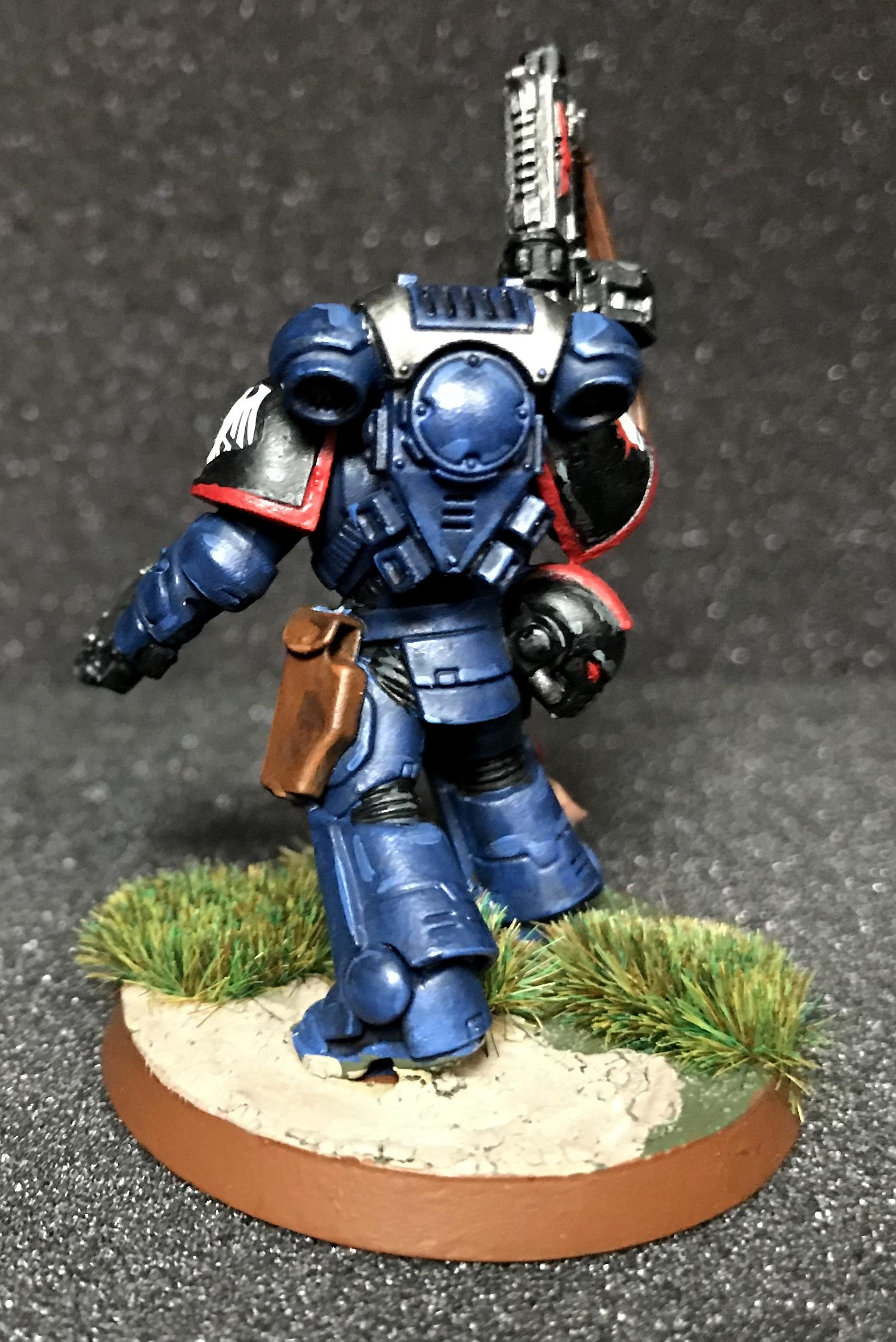 Lieutenant, Night Ravens, Primaris, Space Marines
