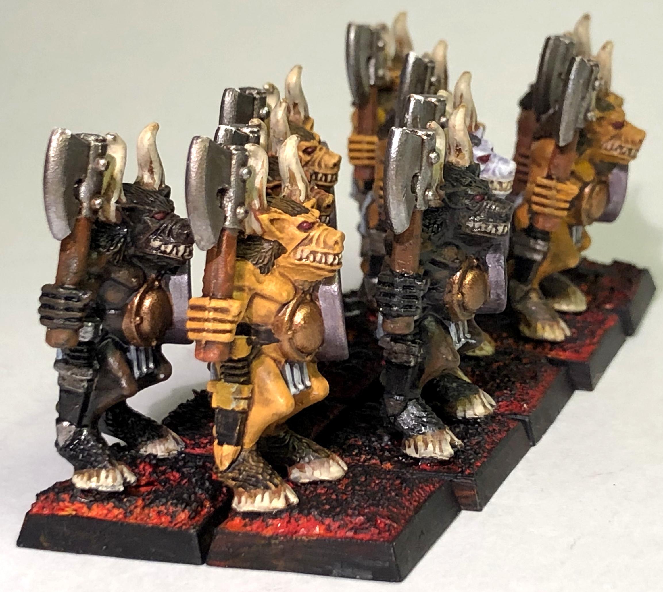 Battle Masters, Beastmen, Slaanesh