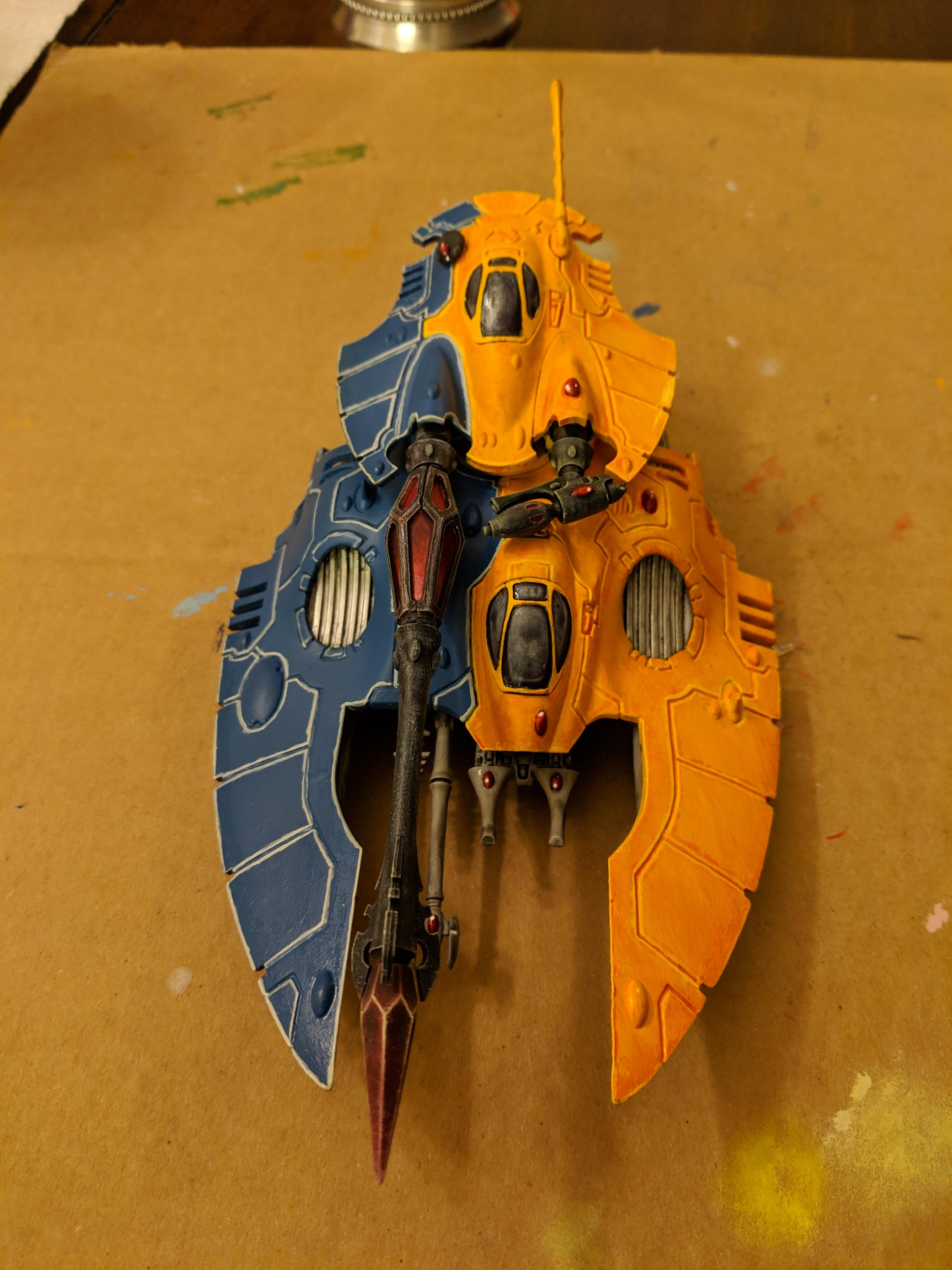 Craftworld, Eldar, Fire Prism, Iyanden