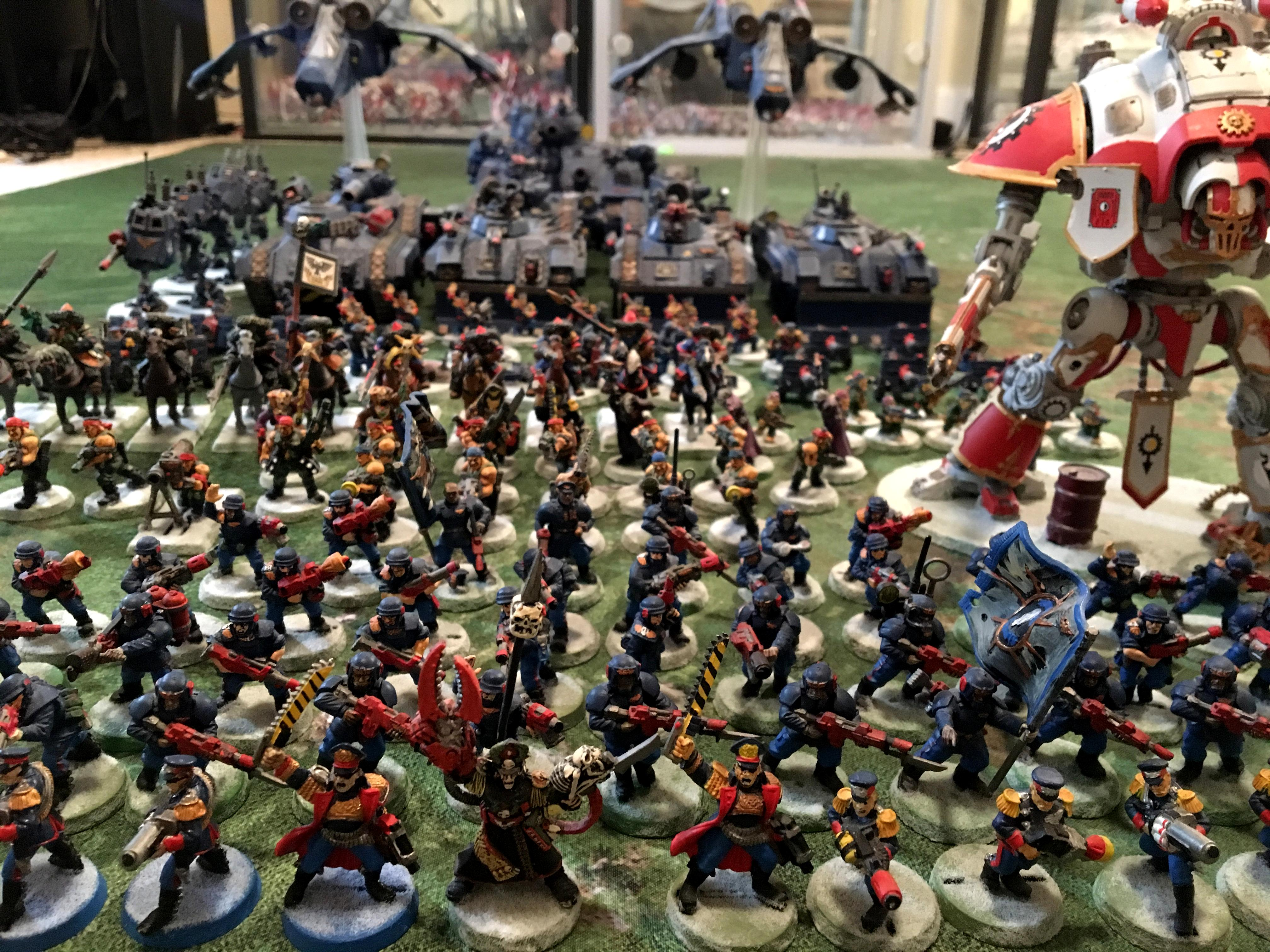 2nd Edition, Army, Astra Militarum, Cadians, Catachan, Imperial Guard, Mordian