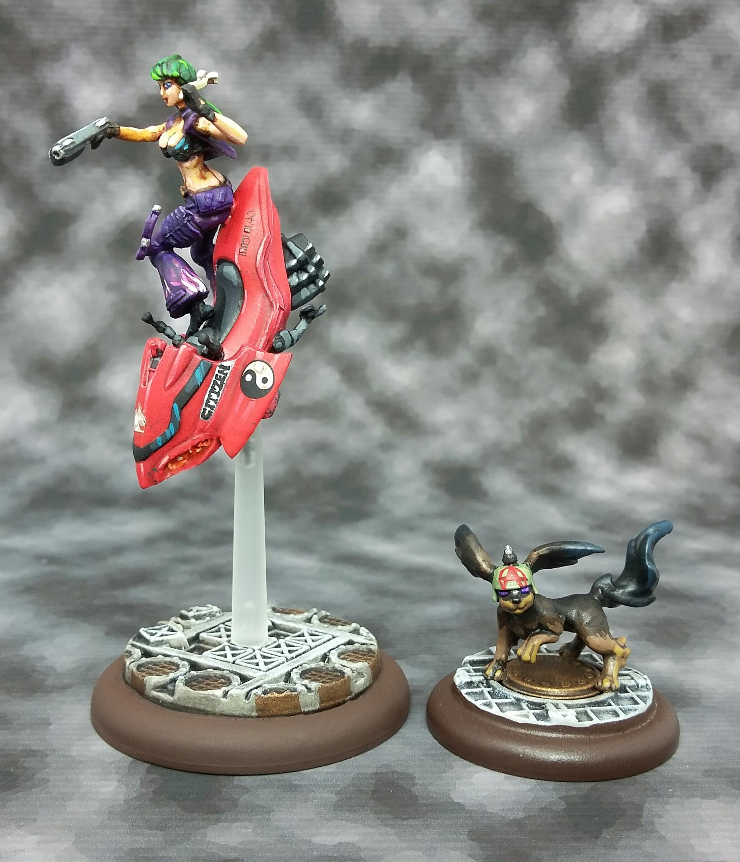 Anime, Female, Jetbike, Relic Knights