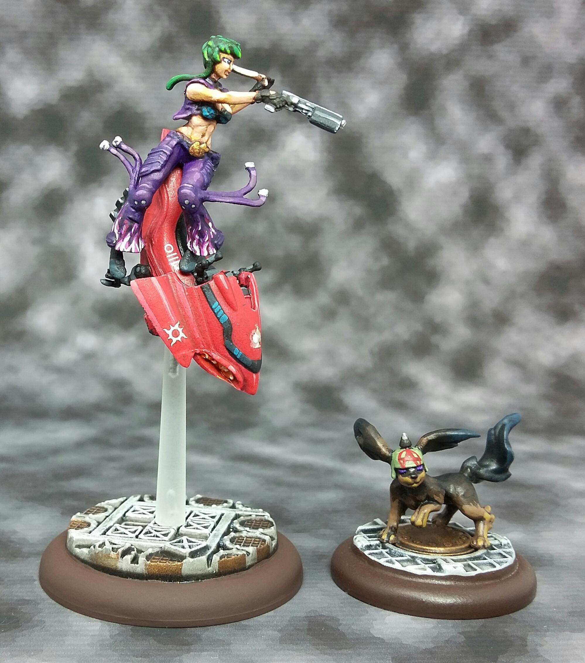 Female, Jetbike, Suicide Queen