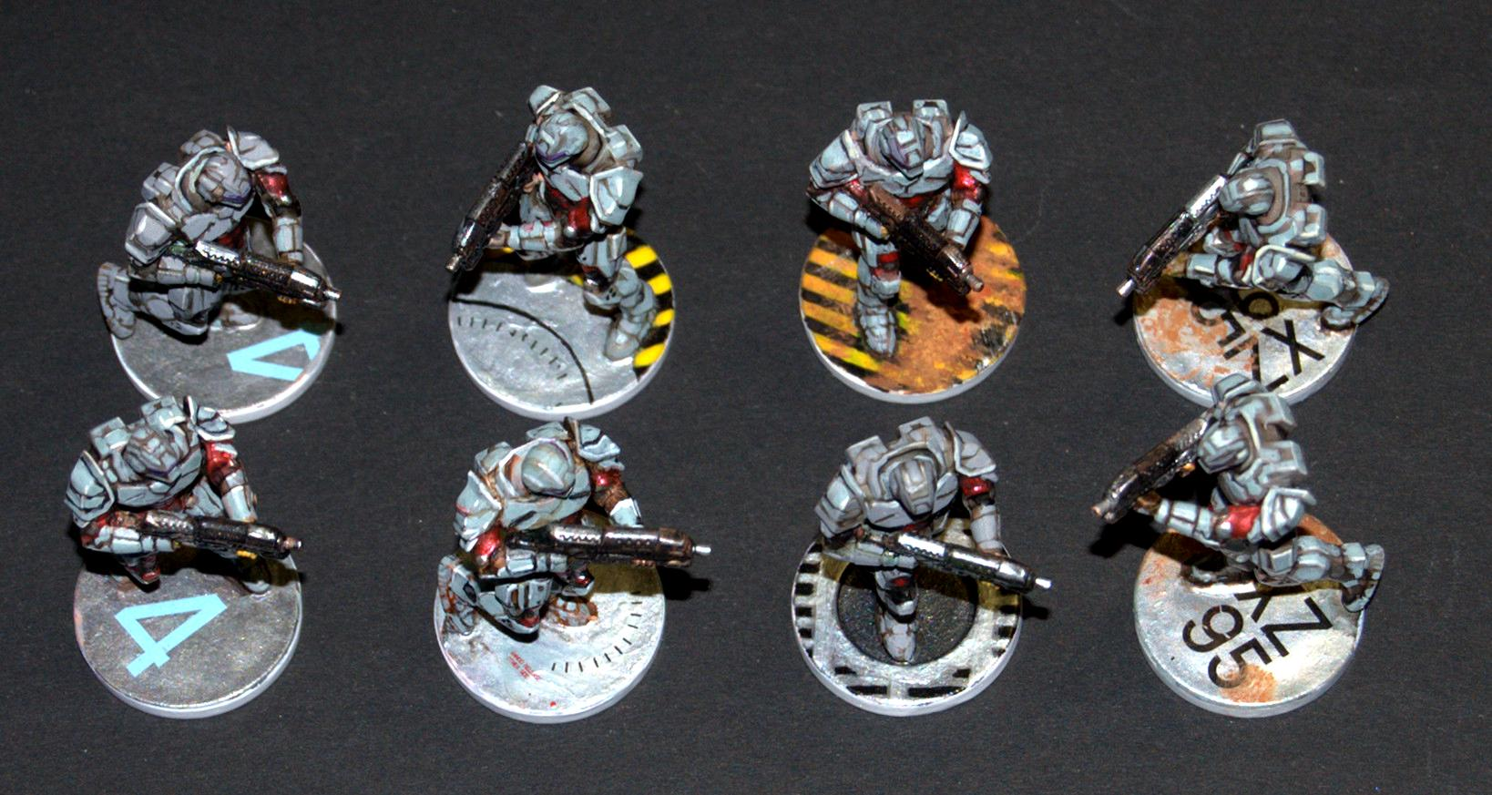 Enforcers, Mantic Games, Warpath