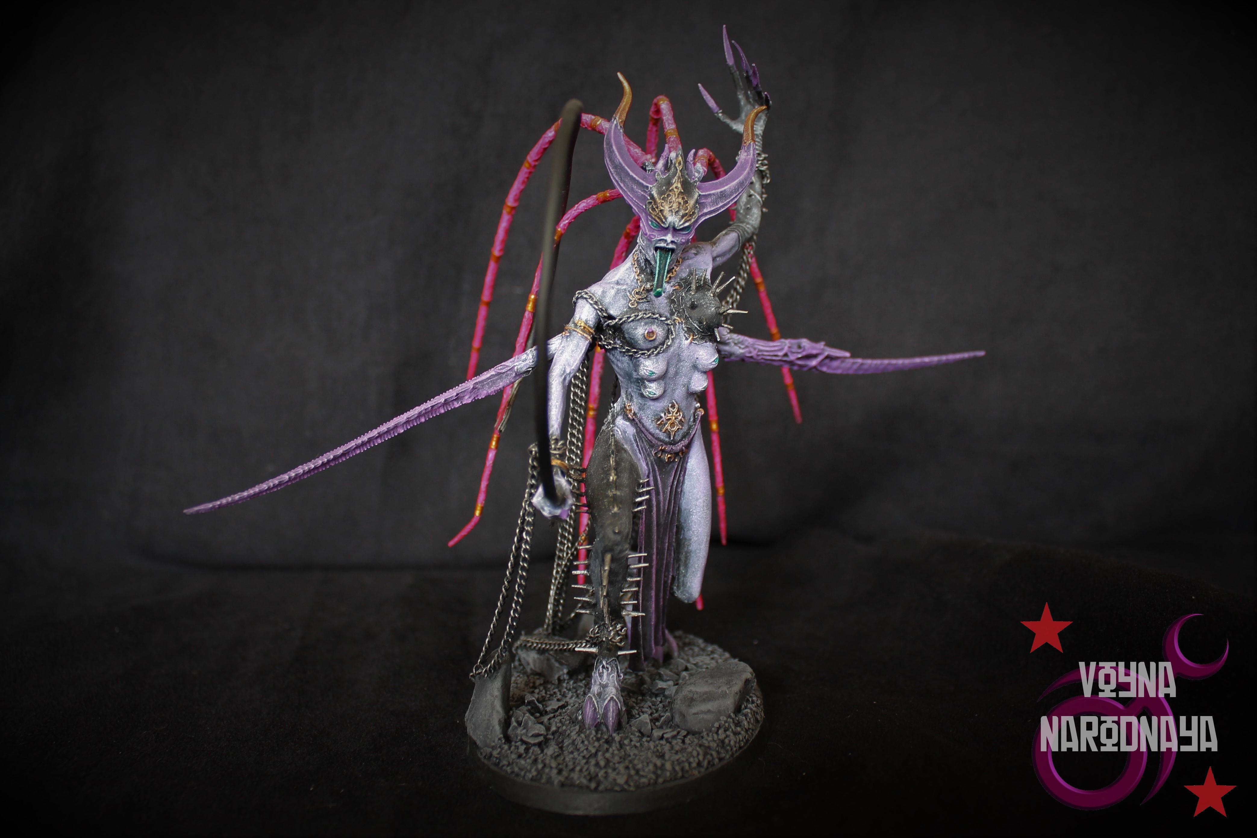 Chain, Daemons, Greater Daemon, Keeper Of Secrets, Shibari, Slaanesh, Whip, Zarakynel