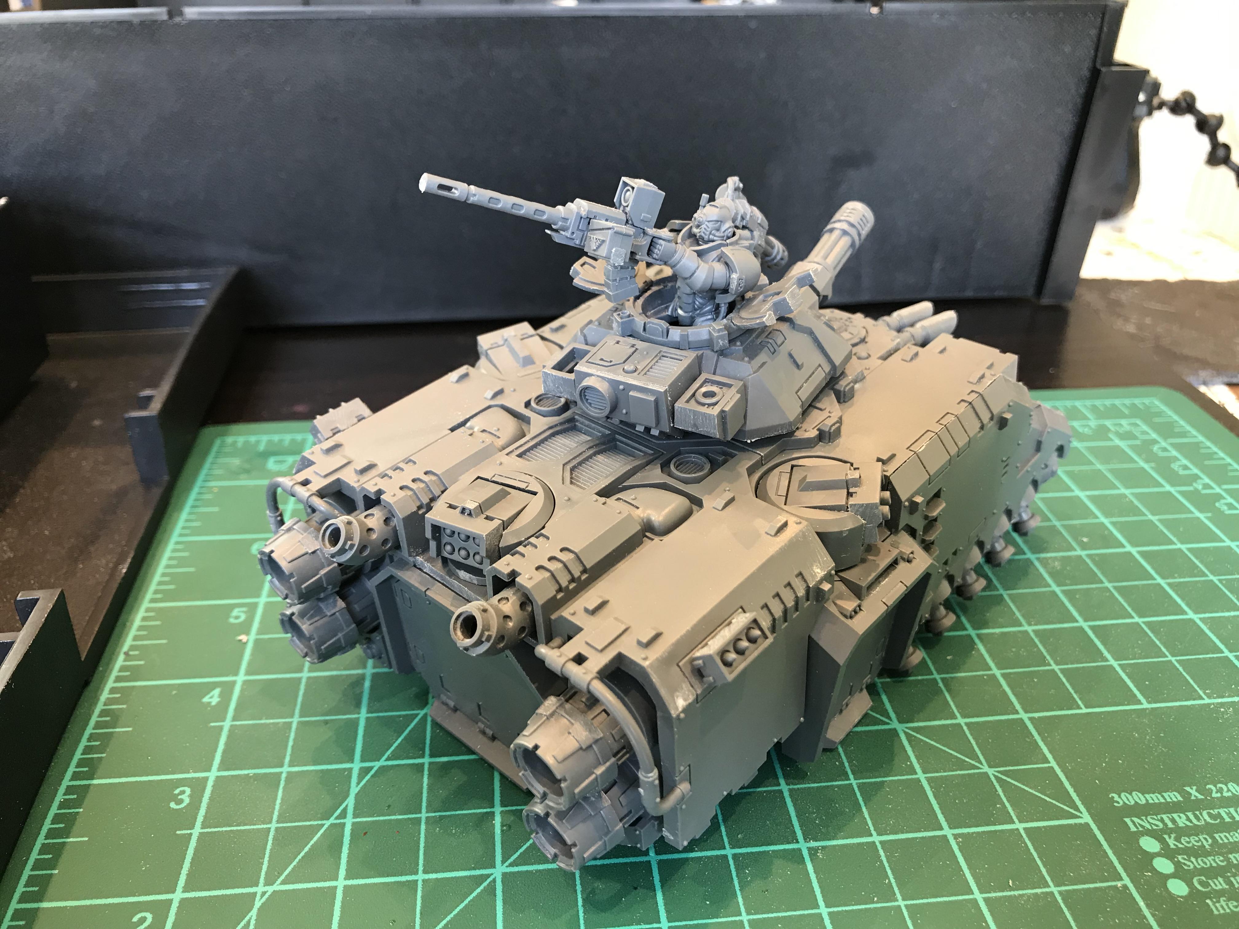 Repulsor assembled - rear