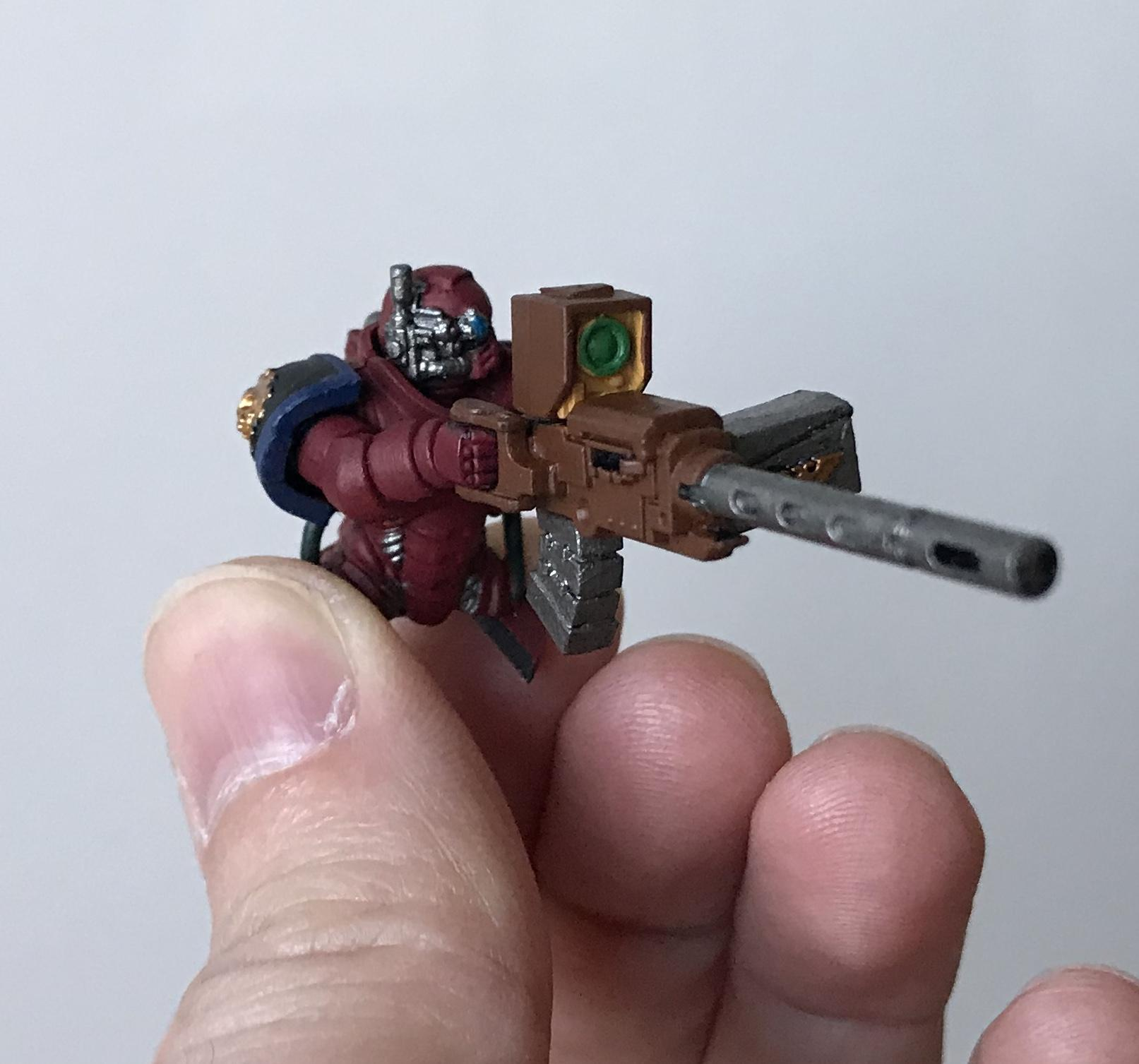 Repulsor gunner base coat - front right