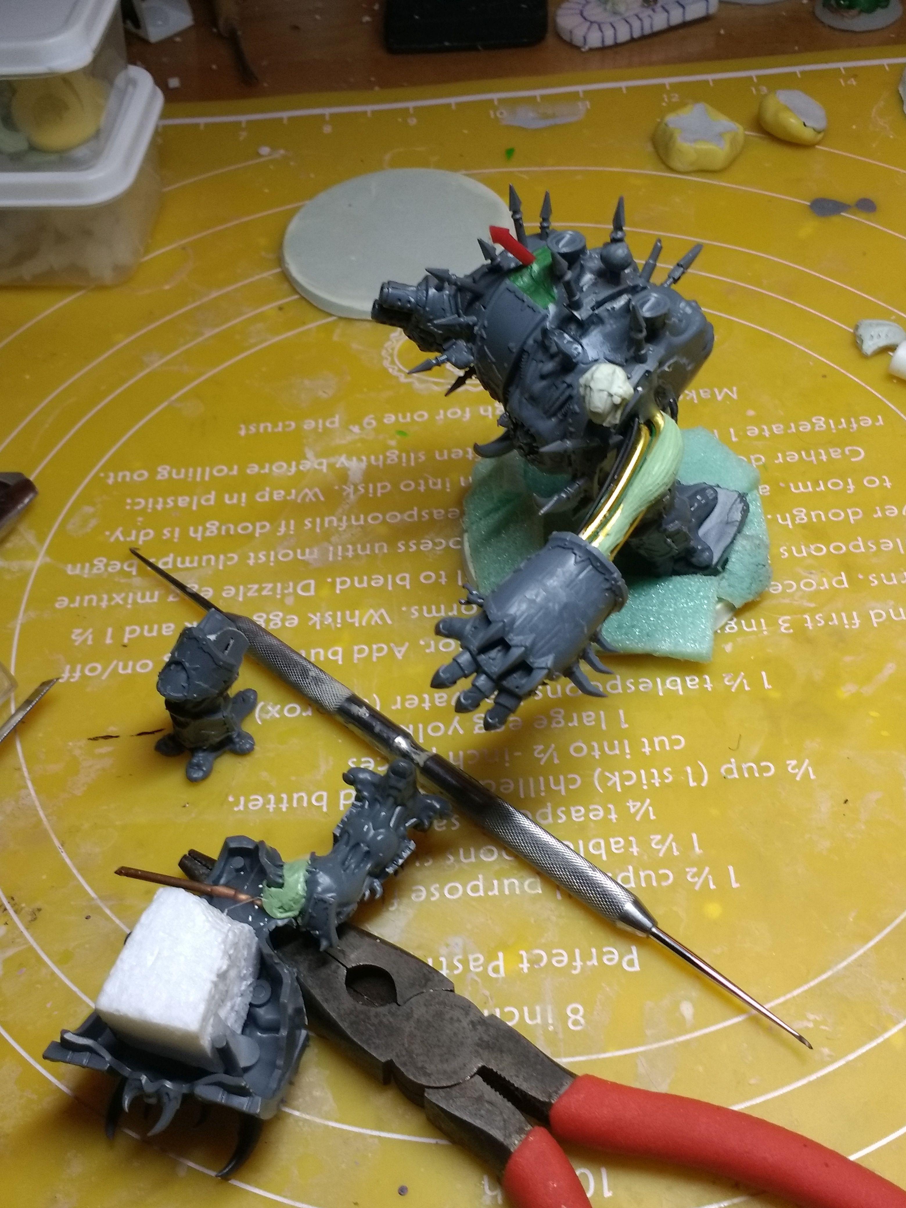 Chaos, Dreadnought, Warhammer 40,000