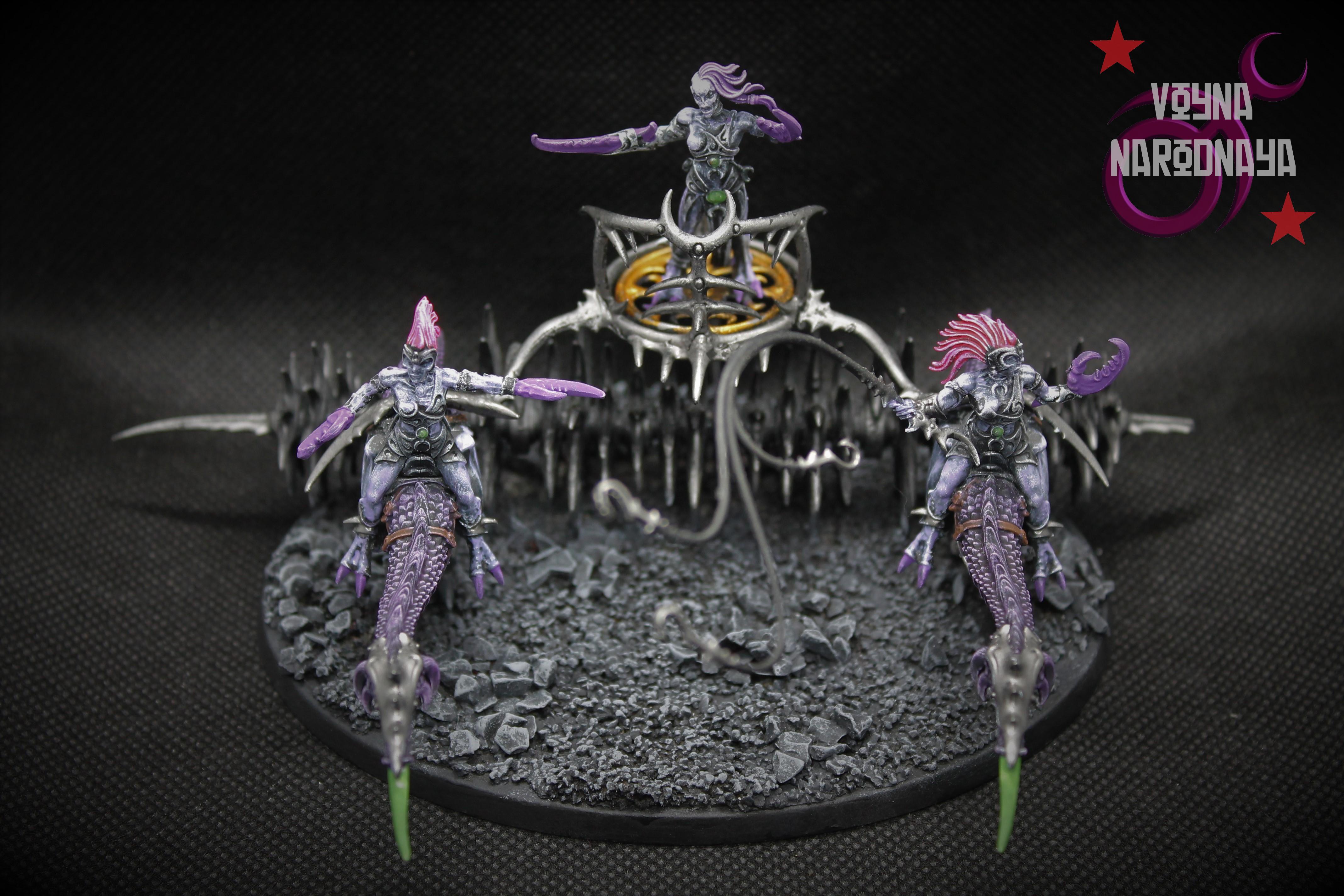 Chaos, Daemonettes, Daemons, Hellflayer, Slaanesh