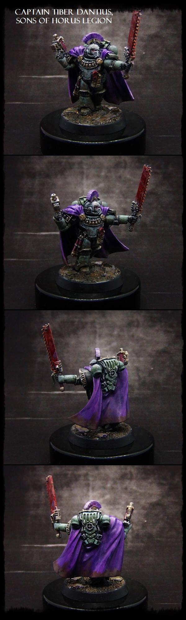 30k, Captain, Commander, Horus Heresy, Legion, Luna Wolves, Sons Of Horus