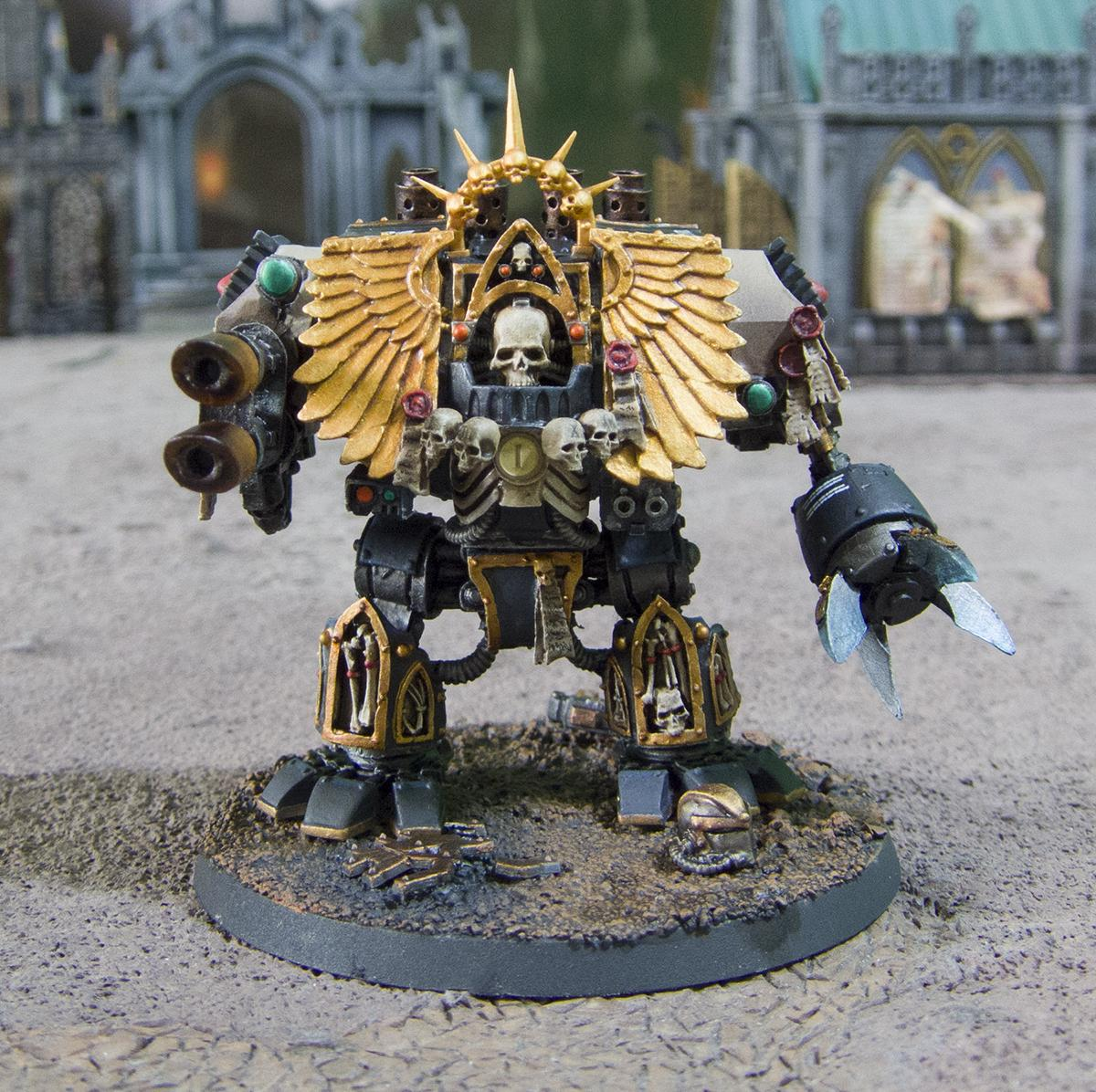 Chaplain, Dreadnought, Forge World, Out Of Production, Space Marines, Warhammer 40,000
