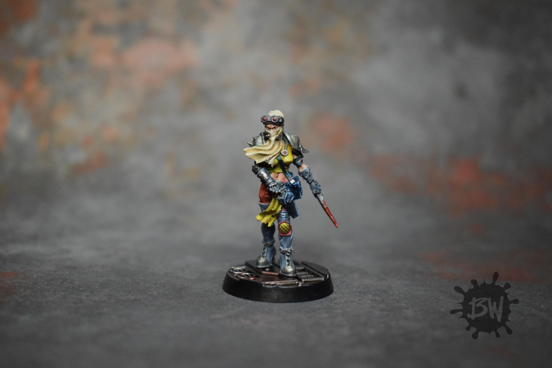 Bw, Forge World, Games Workshop, Mercenary, Necromunda, Yolanda Skorn