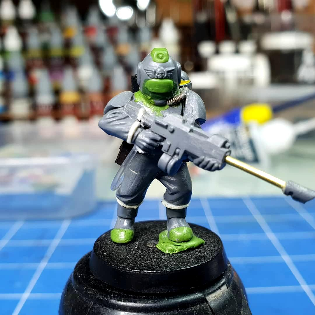 Custom, Customised, Diving, Guard, Imperial, Suit
