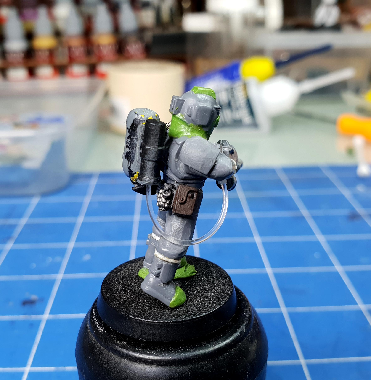 Custom, Customised, Diving, Guard, Imperial, Suit