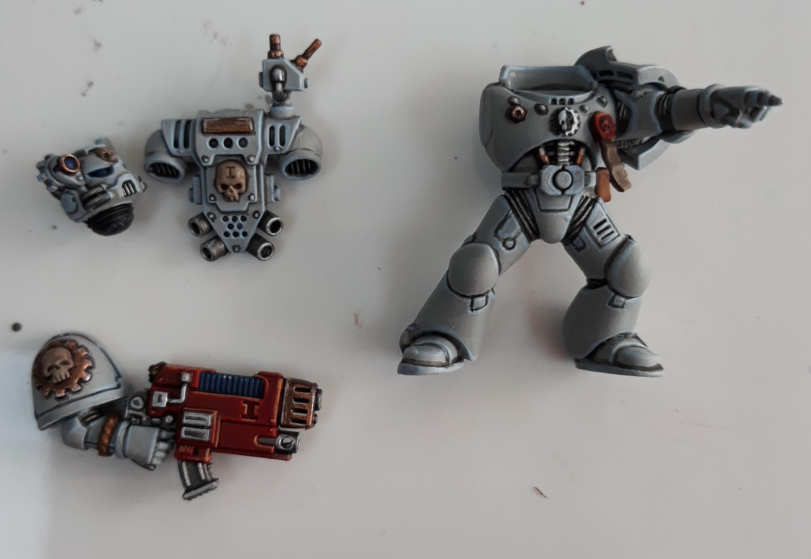 Command squad special Weapon WIP 5