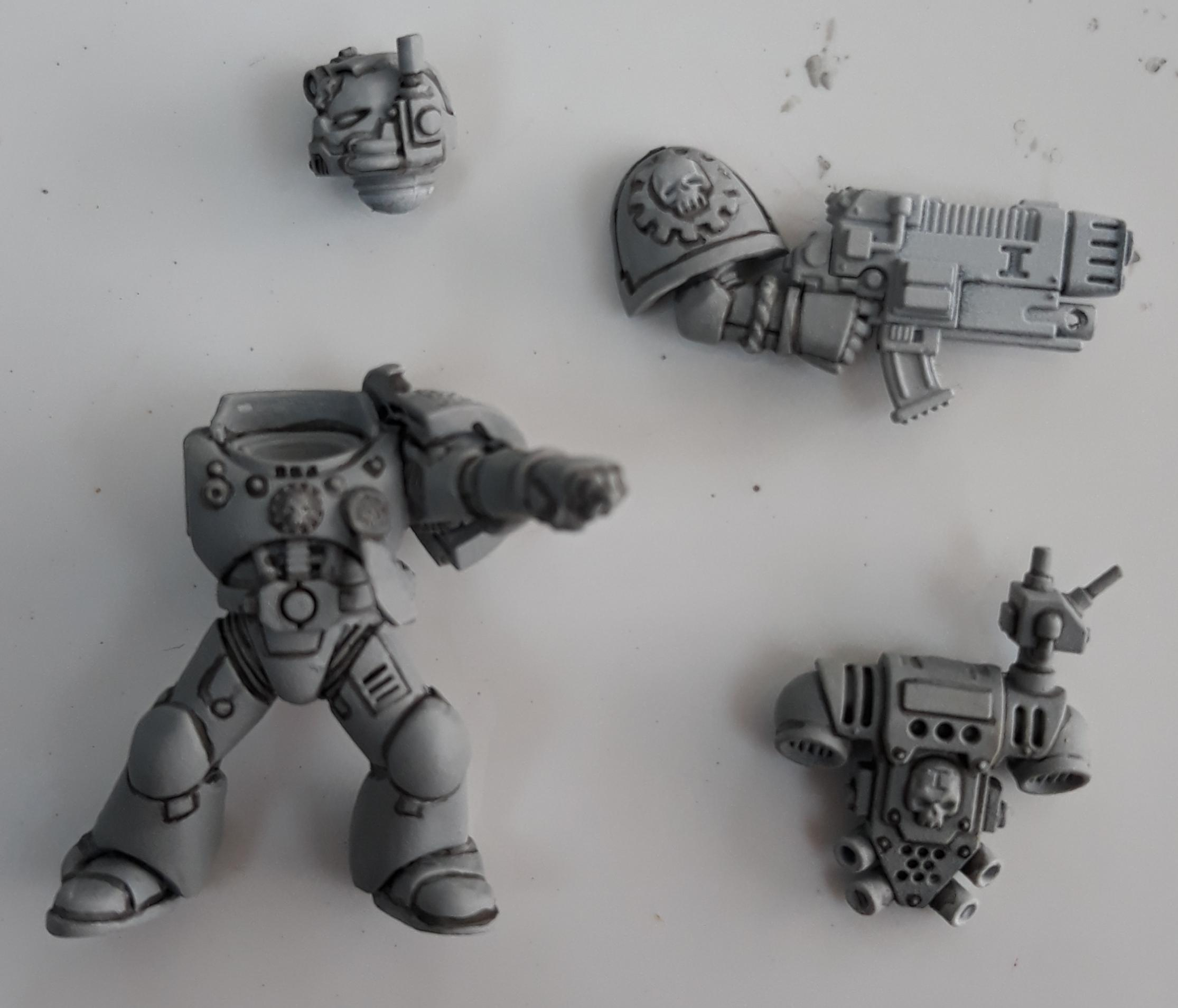 Command squad special Weapon WIP 3